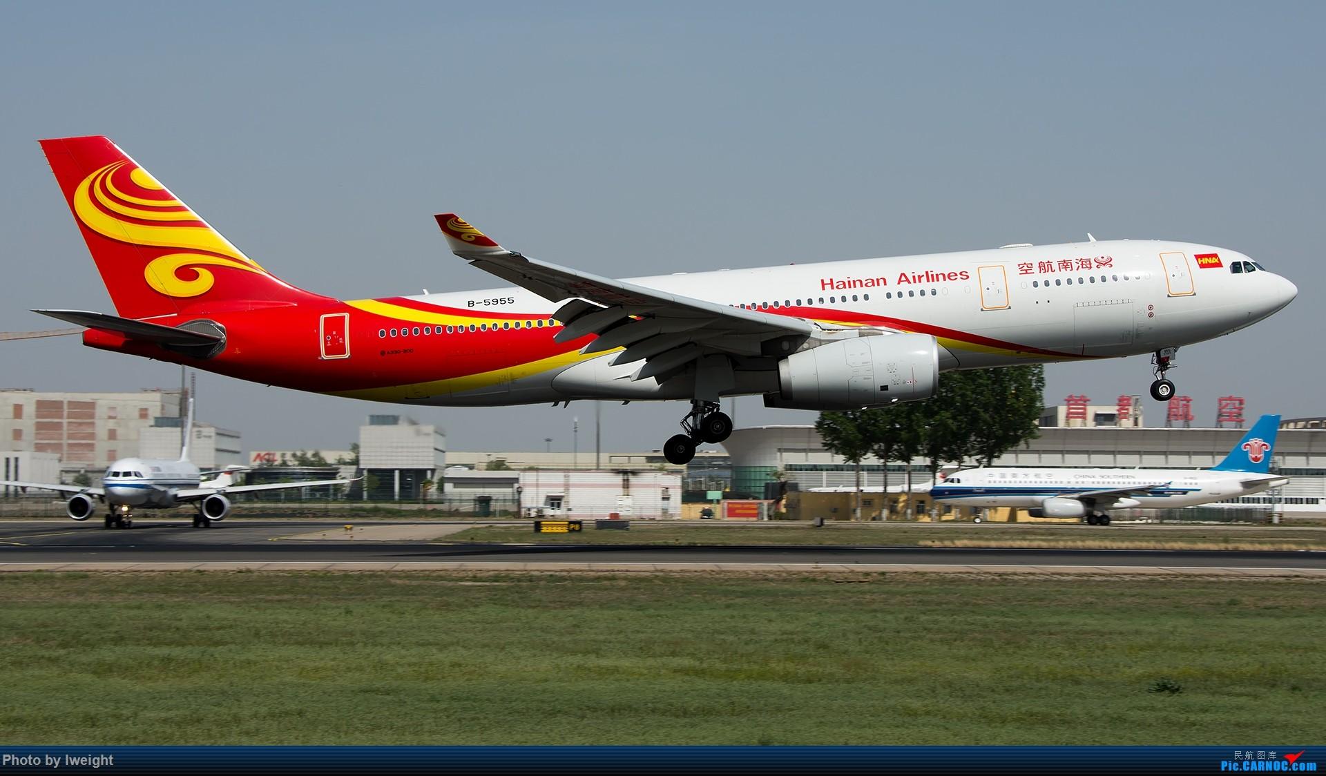 Re:[原创]天气晴朗,继续守候18R【多图】 AIRBUS A330-200 B-5955 中国北京首都国际机场