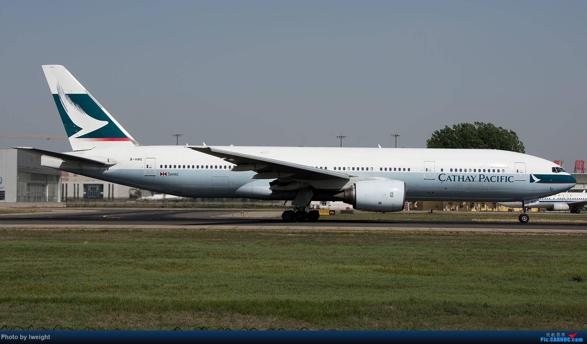 Re:[原创]天气晴朗,继续守候18R【多图】 BOEING 777-200 B-HNC 中国北京首都国际机场