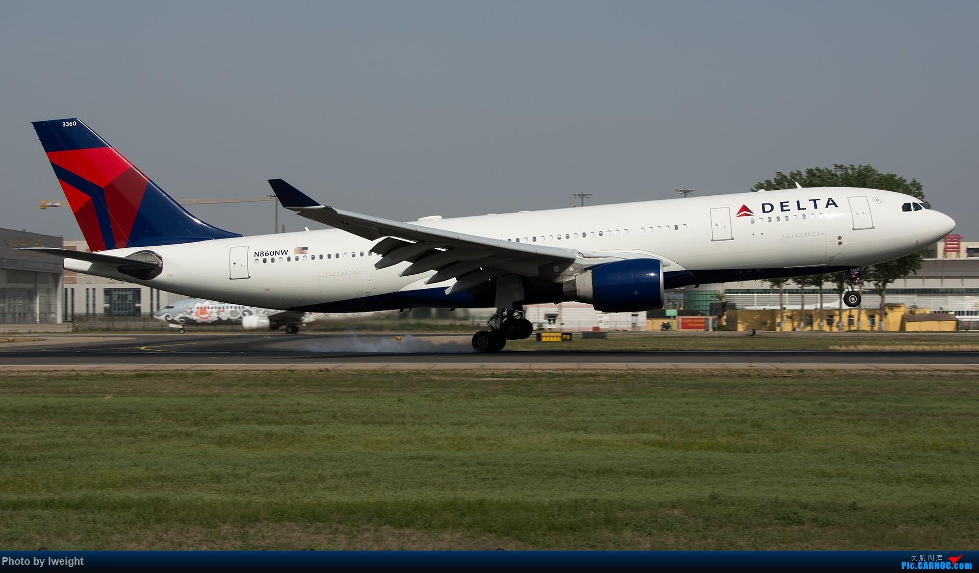 Re:[原创]天气晴朗,继续守候18R【多图】 AIRBUS A330-200 N860NW 中国北京首都国际机场