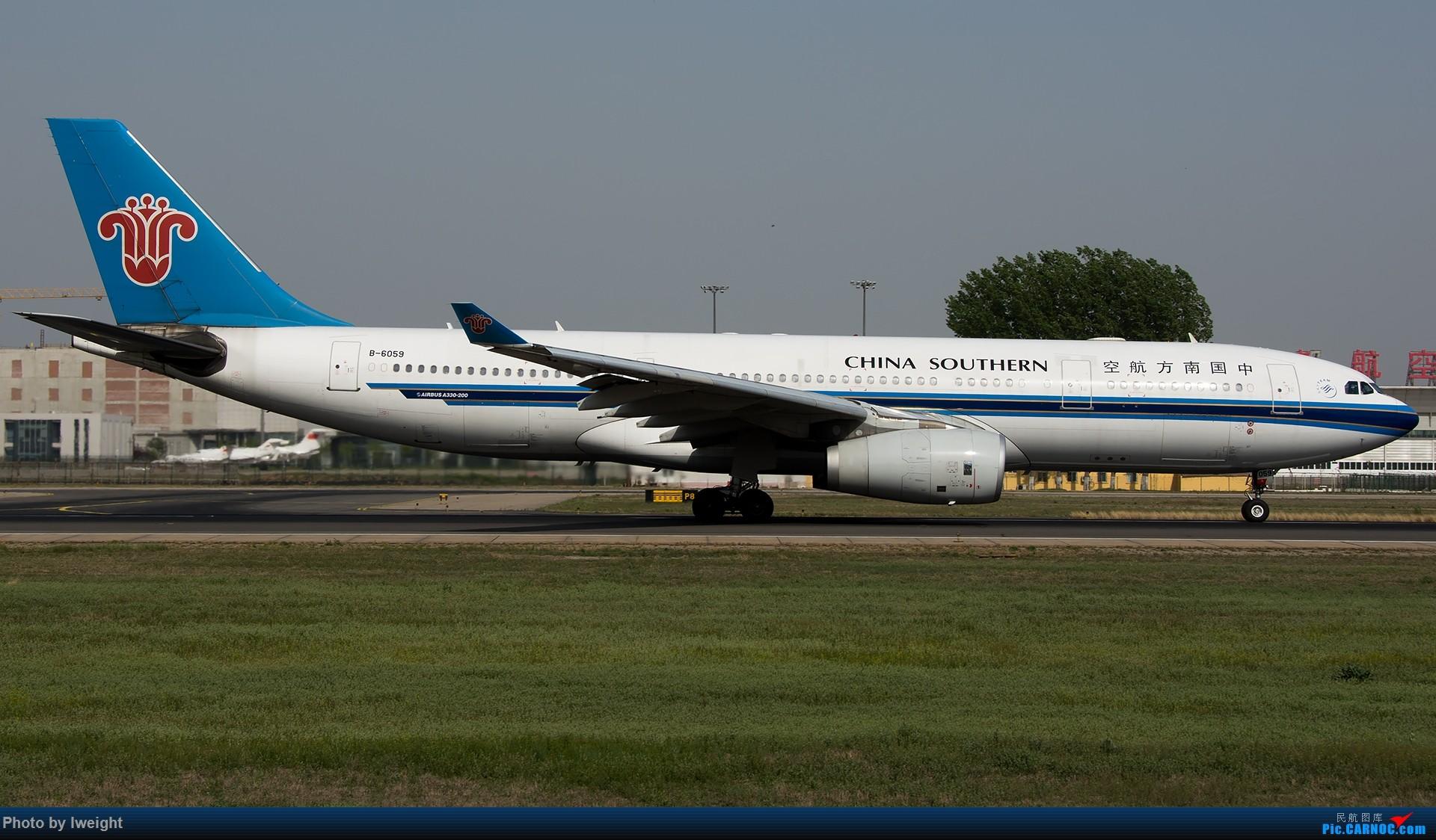 Re:[原创]天气晴朗,继续守候18R【多图】 AIRBUS A330-200 B-6059 中国北京首都国际机场