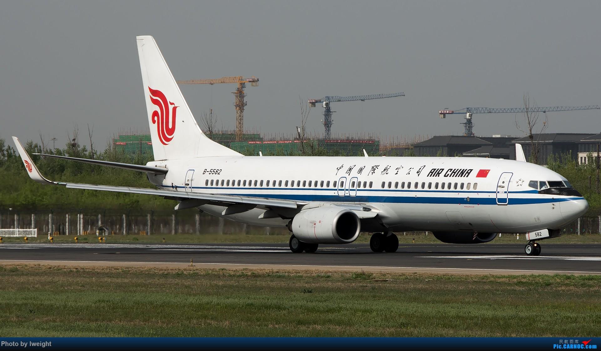 Re:[原创]天气晴朗,继续守候18R【多图】 BOEING 737-800 B-5582 中国北京首都国际机场