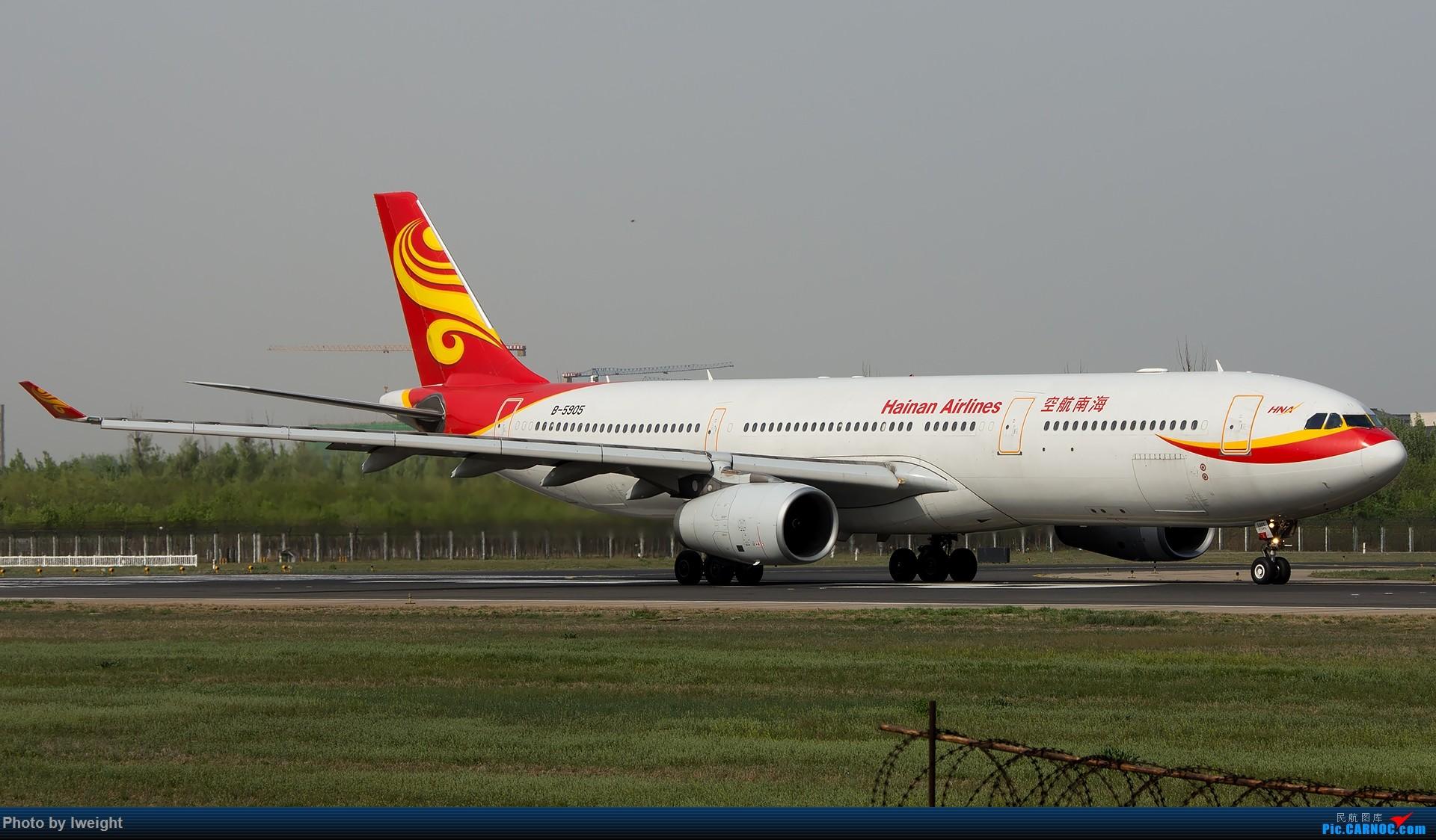 Re:[原创]天气晴朗,继续守候18R【多图】 AIRBUS A330-300 B-5905 中国北京首都国际机场