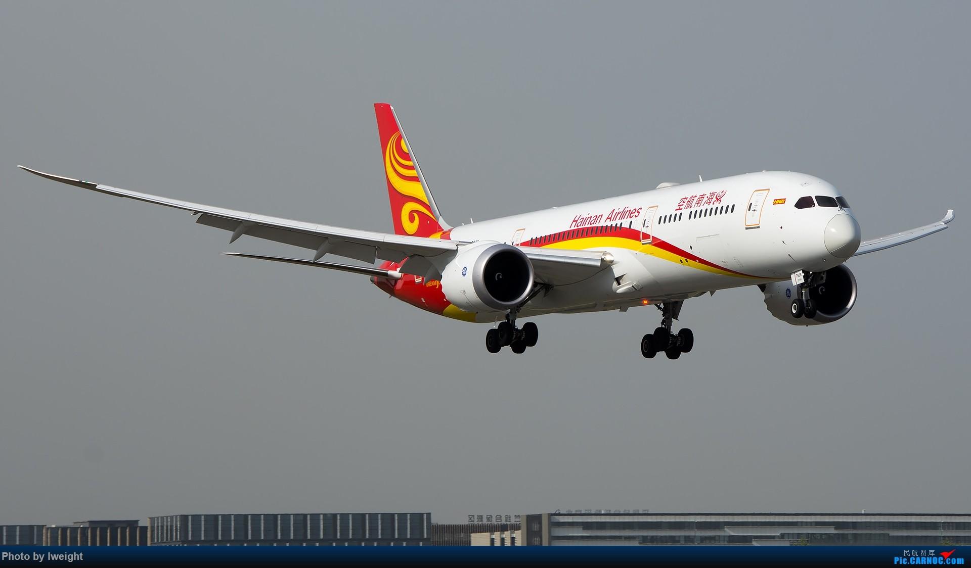 Re:[原创]天气晴朗,继续守候18R【多图】 BOEING 787-9 B-7839 中国北京首都国际机场