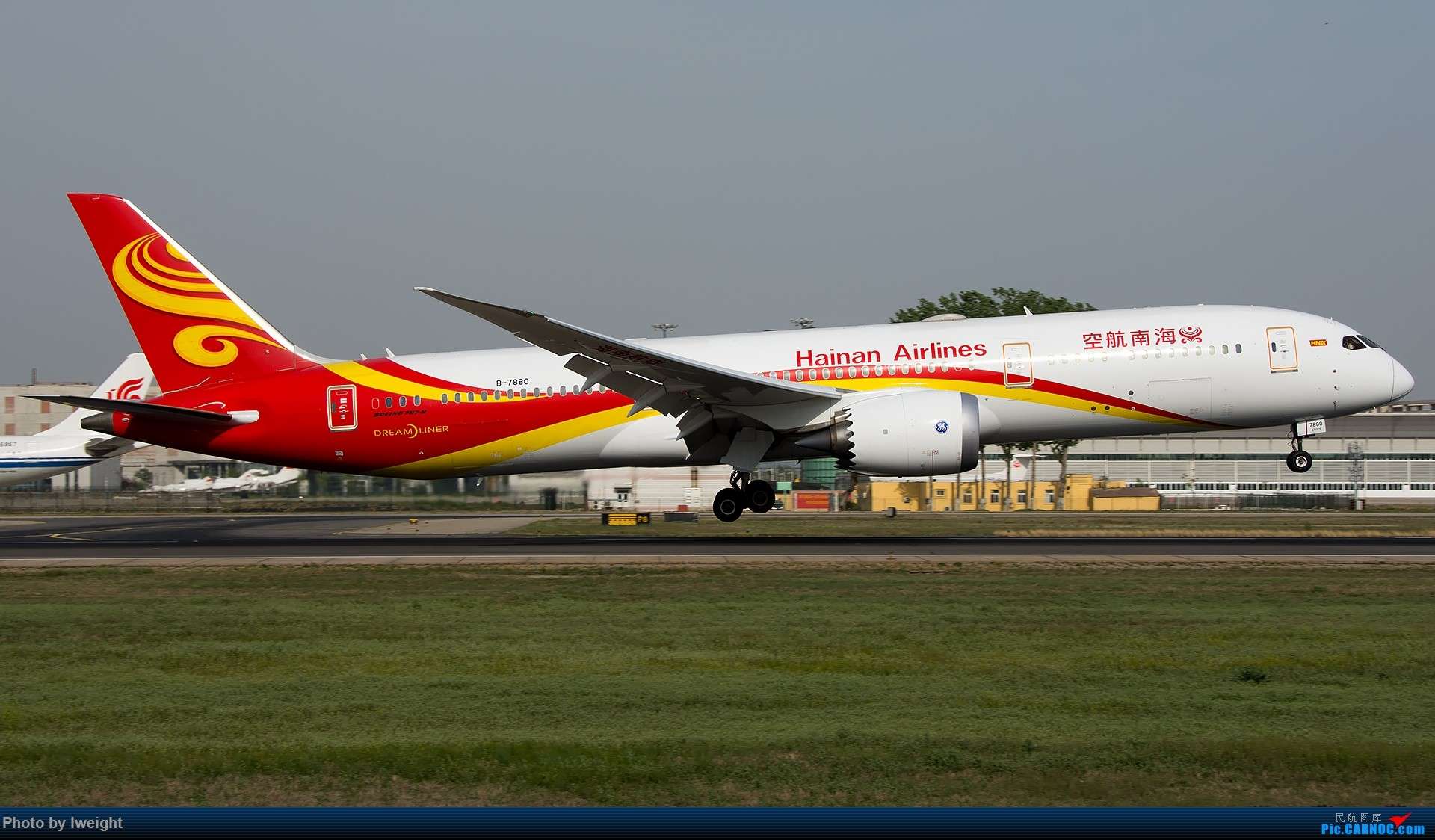 Re:[原创]天气晴朗,继续守候18R【多图】 BOEING 787-9 B-7880 中国北京首都国际机场