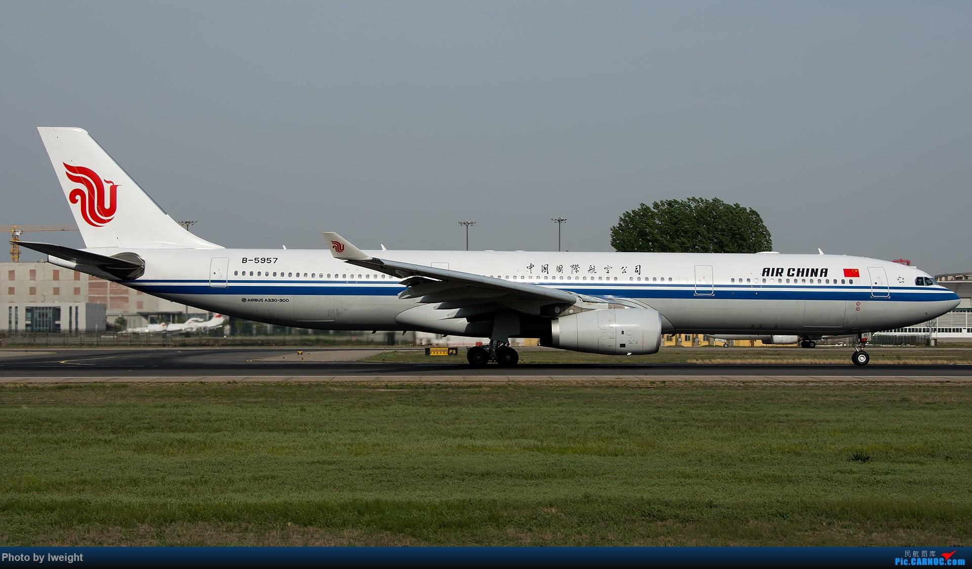 Re:[原创]天气晴朗,继续守候18R【多图】 AIRBUS A330-300 B-5957 中国北京首都国际机场