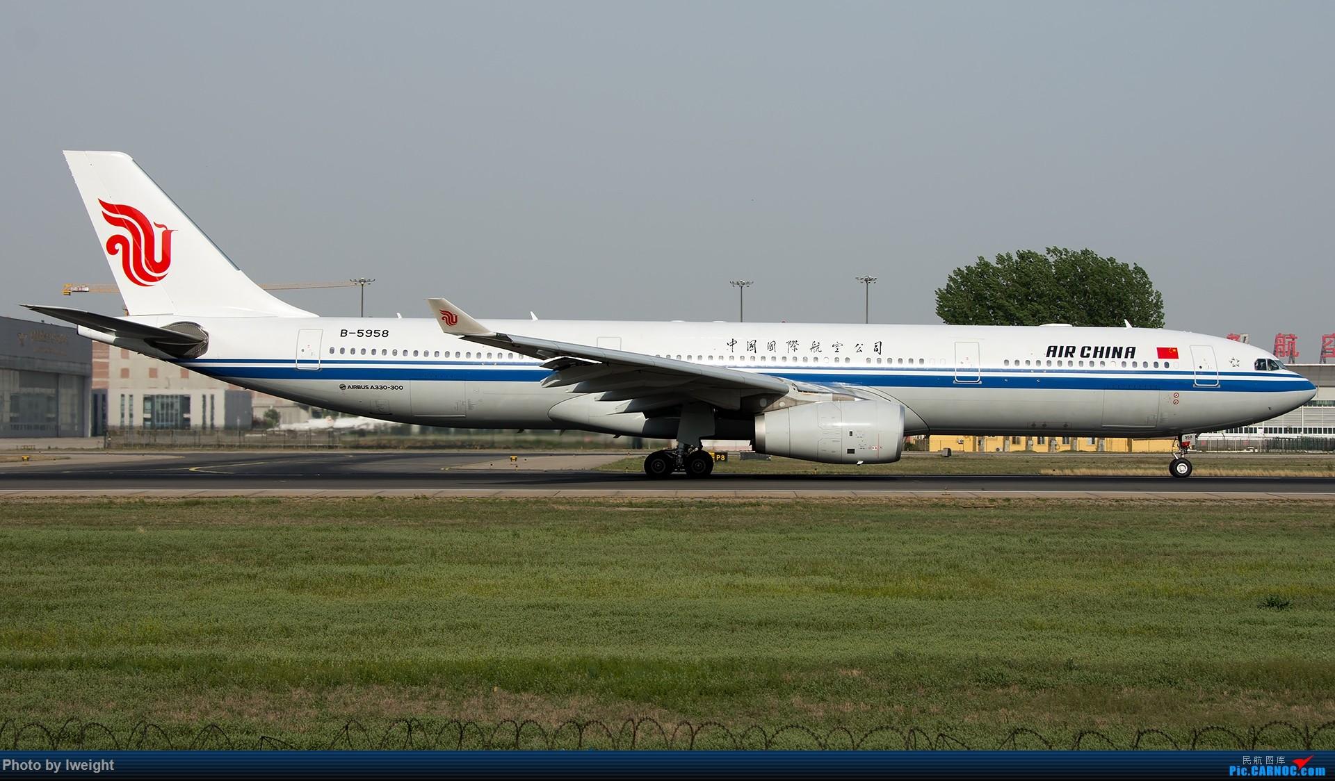 Re:[原创]天气晴朗,继续守候18R【多图】 AIRBUS A330-300 B-5958 中国北京首都国际机场