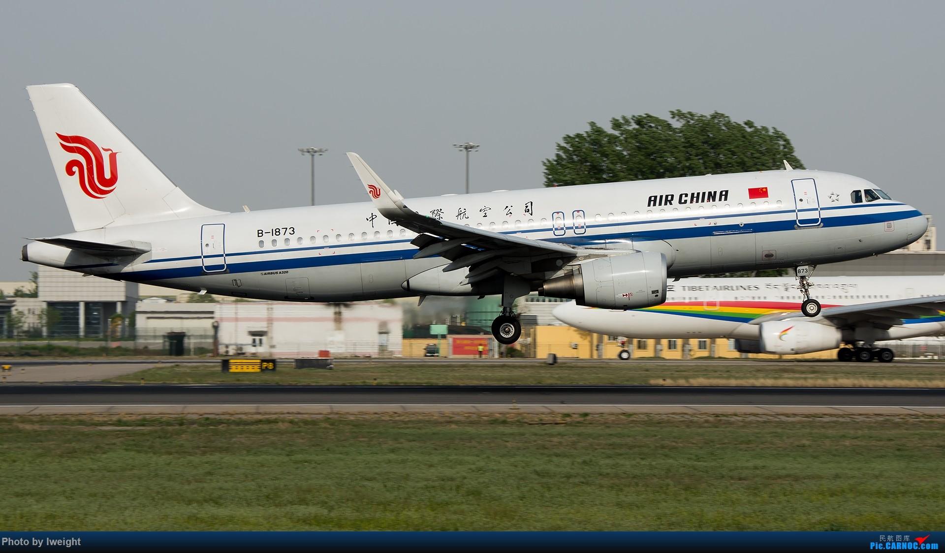 Re:[原创]天气晴朗,继续守候18R【多图】 AIRBUS A320-200 B-1873 中国北京首都国际机场