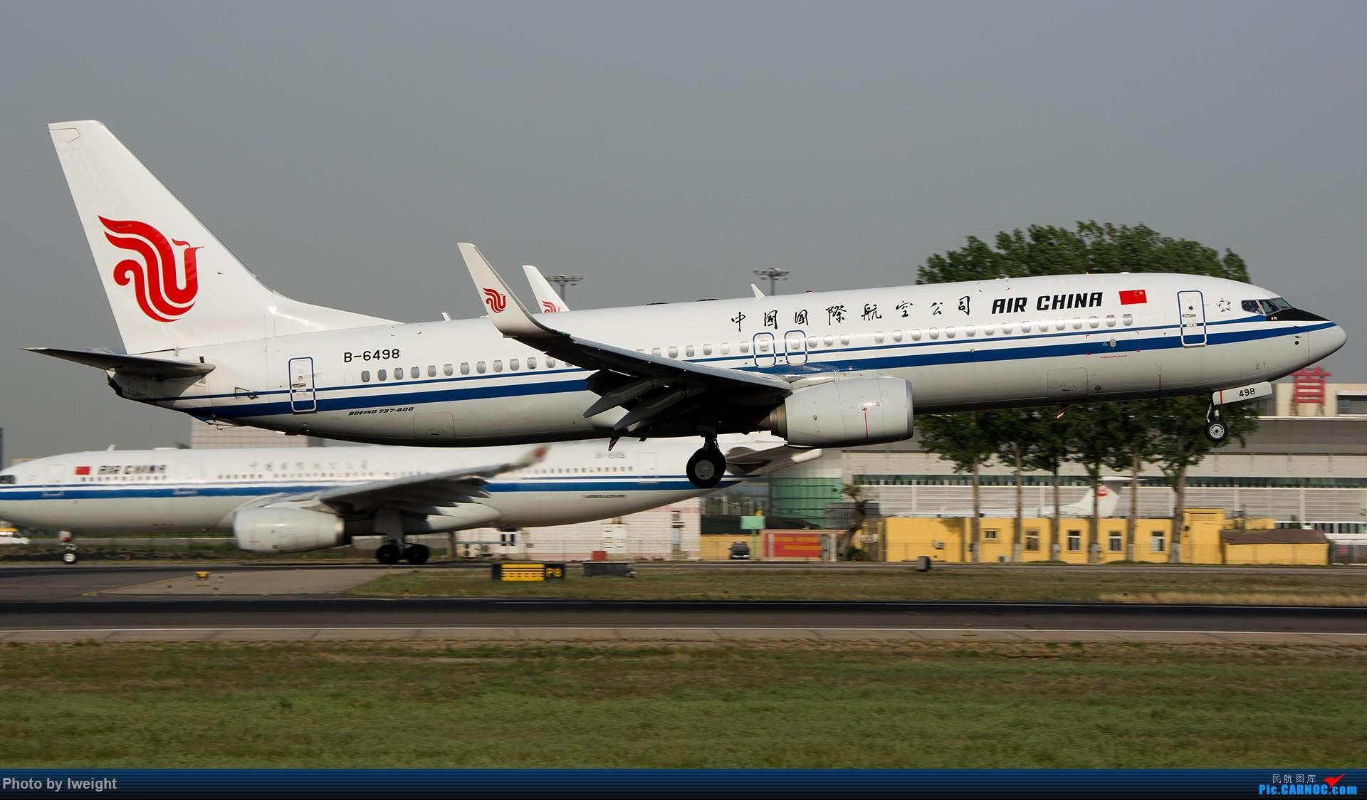 Re:[原创]天气晴朗,继续守候18R【多图】 BOEING 737-800 B-6498 中国北京首都国际机场