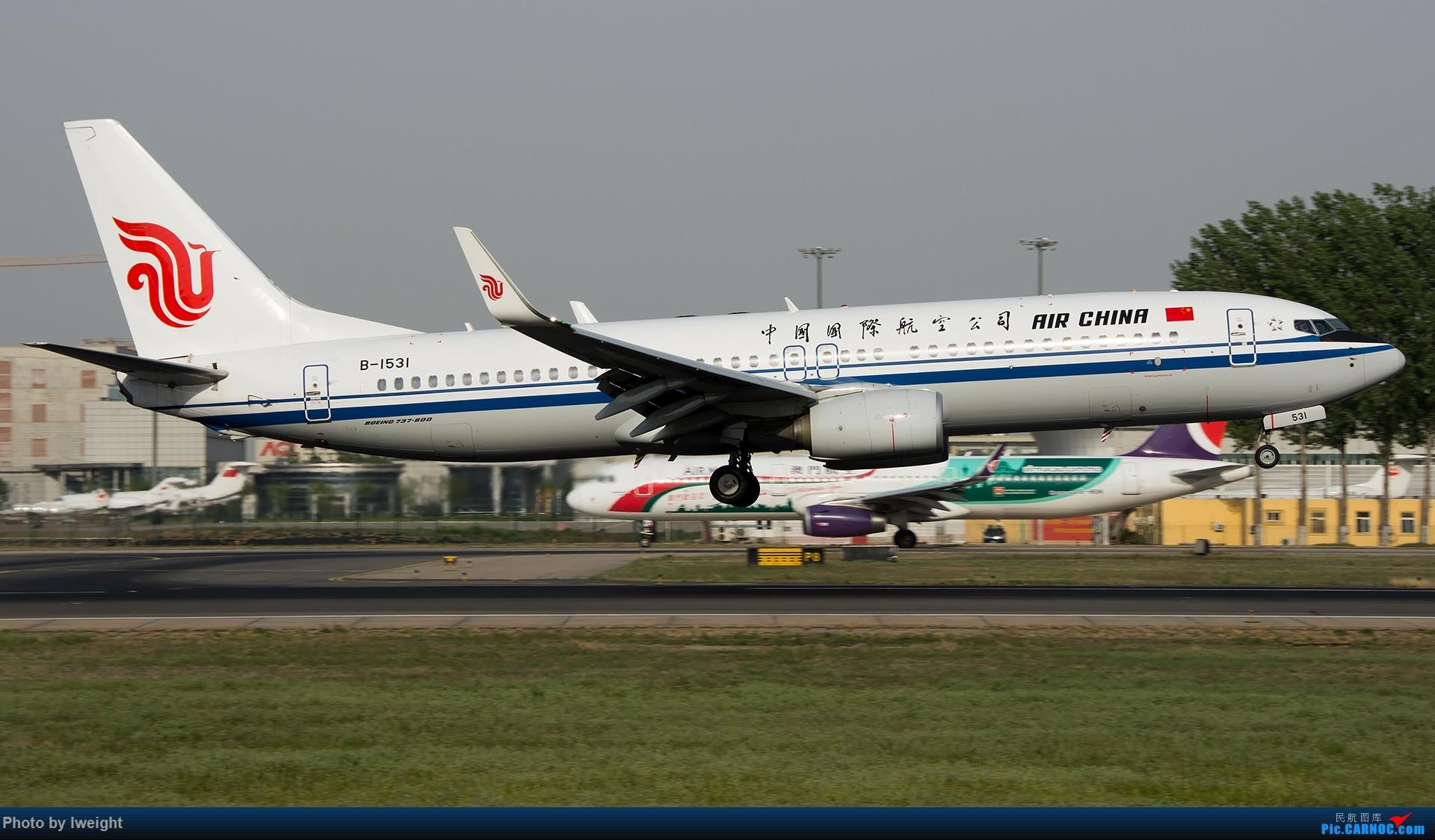 Re:[原创]天气晴朗,继续守候18R【多图】 BOEING 737-800 B-1531 中国北京首都国际机场