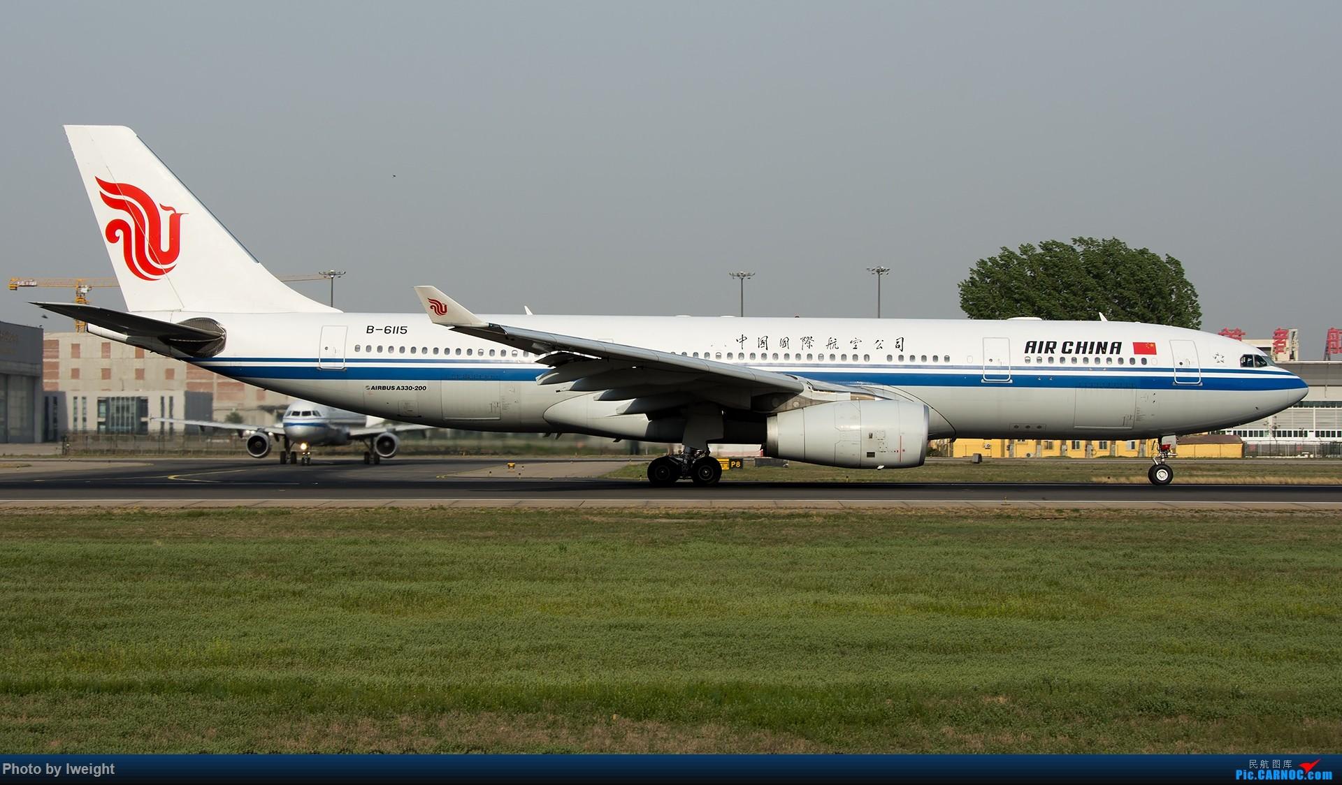 Re:[原创]天气晴朗,继续守候18R【多图】 AIRBUS A330-200 B-6115 中国北京首都国际机场