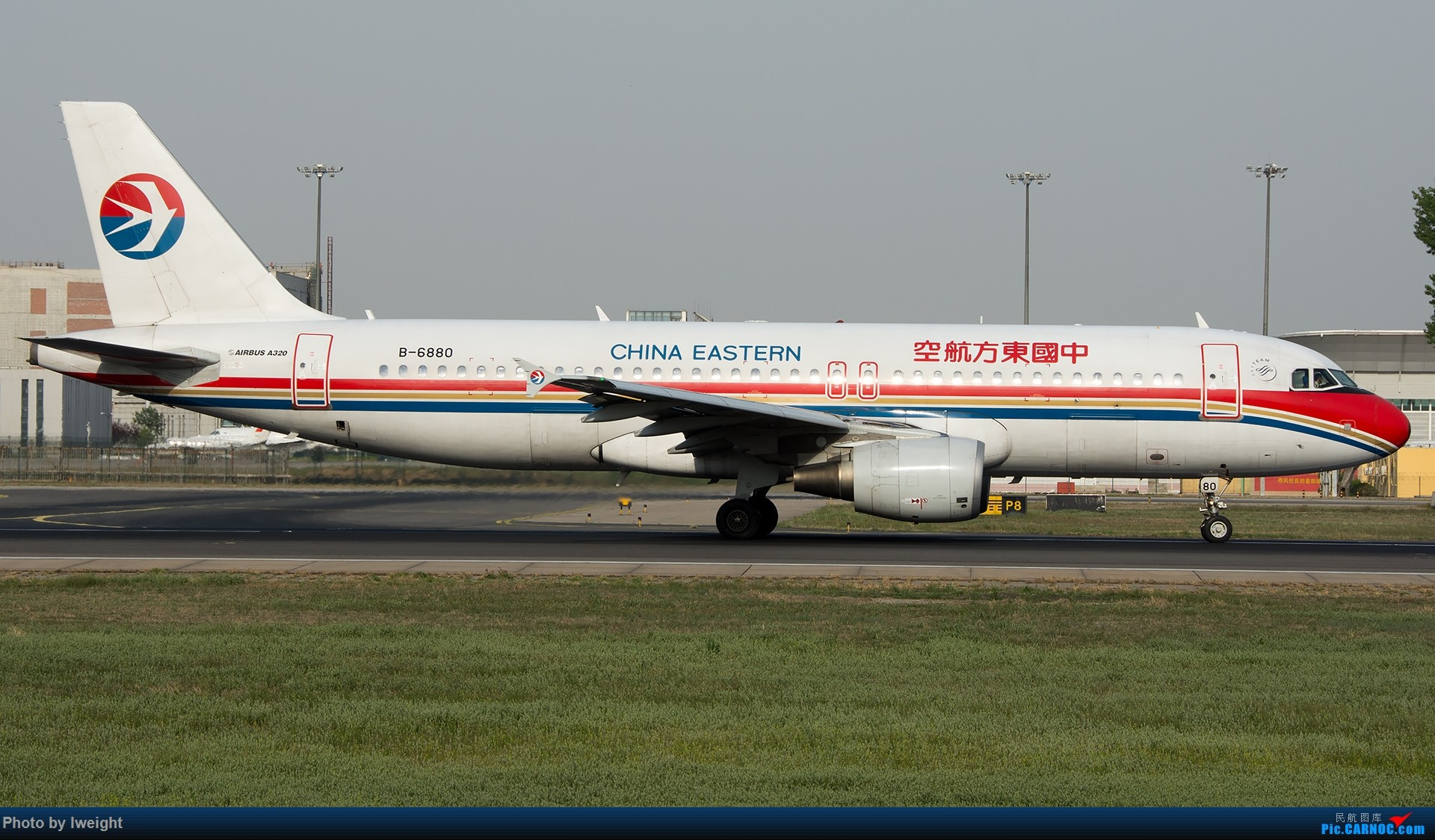 Re:[原创]天气晴朗,继续守候18R【多图】 AIRBUS A320-200 B-6880 中国北京首都国际机场