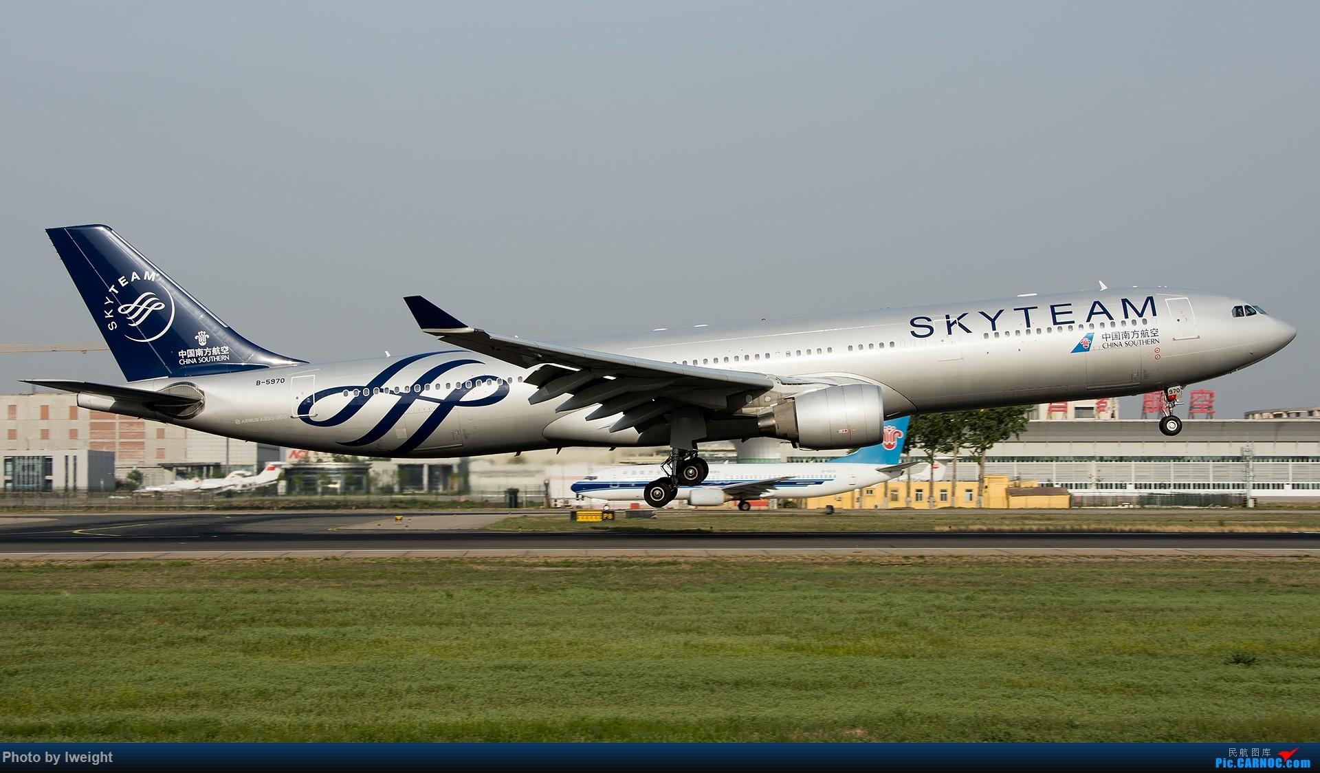 Re:[原创]天气晴朗,继续守候18R【多图】 AIRBUS A330-300 B-5970 中国北京首都国际机场