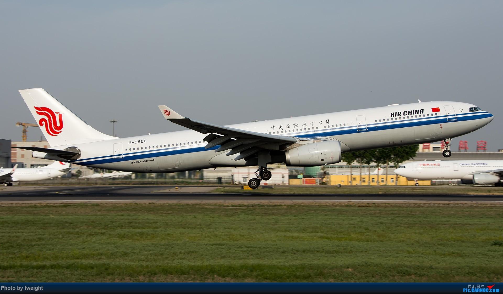 Re:[原创]天气晴朗,继续守候18R【多图】 AIRBUS A330-300 B-5956 中国北京首都国际机场