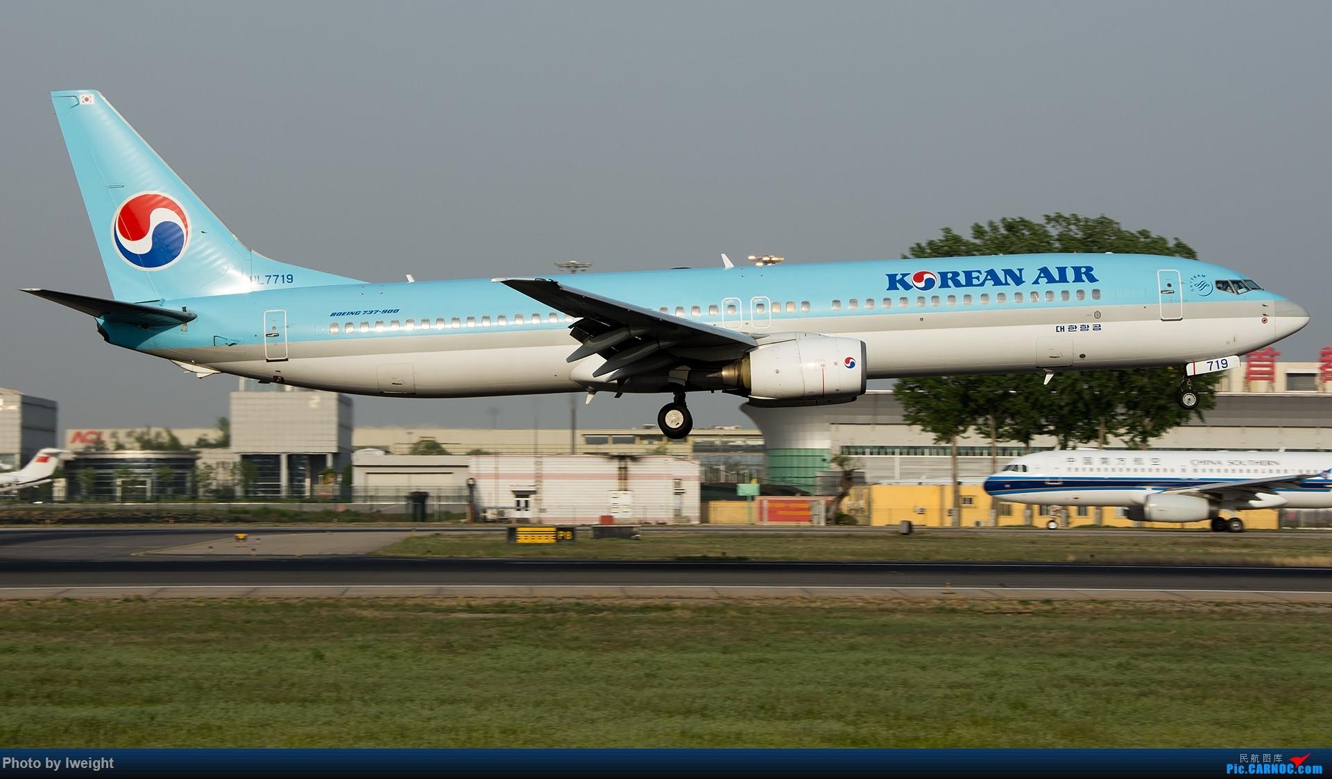 Re:[原创]天气晴朗,继续守候18R【多图】 BOEING 737-900 HL7719 中国北京首都国际机场