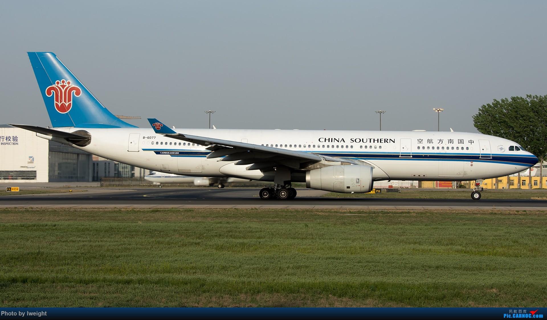 Re:[原创]天气晴朗,继续守候18R【多图】 AIRBUS A330-200 B-6077 中国北京首都国际机场