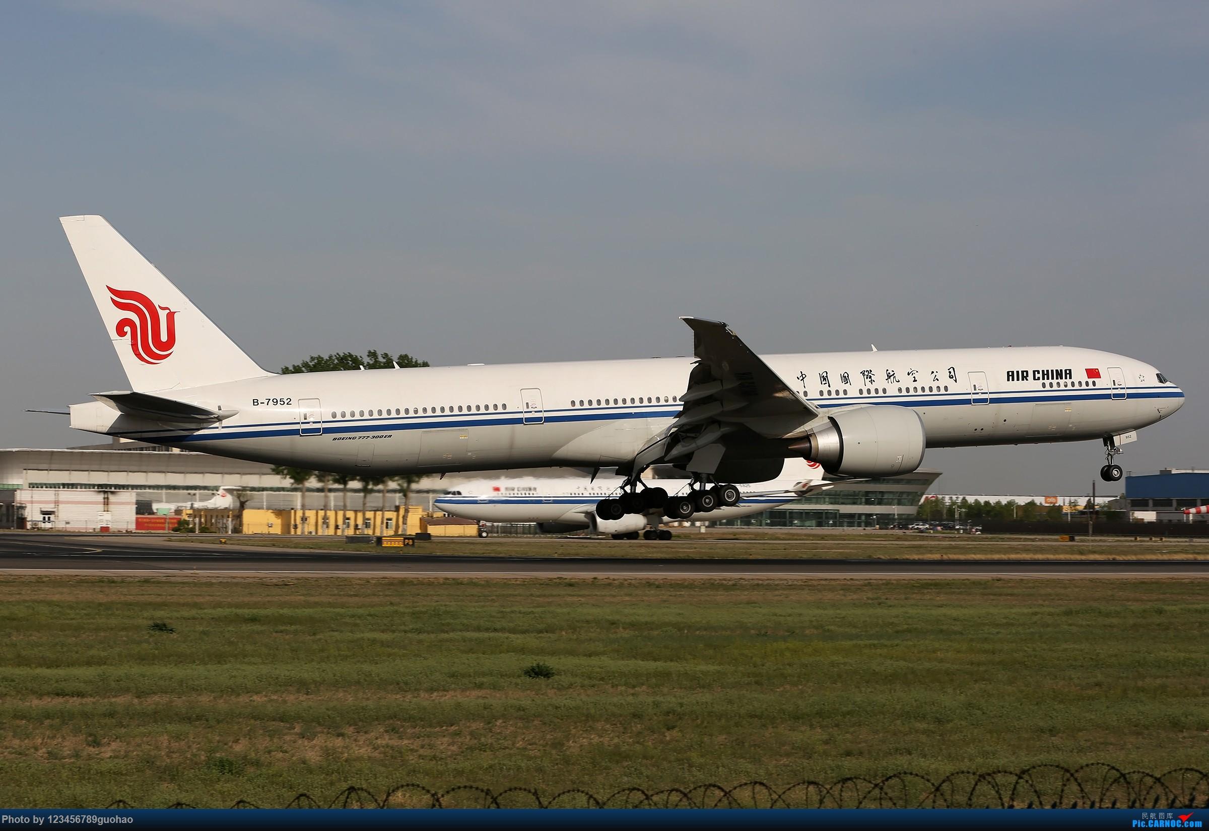 [原创]一图党-国航高密 BOEING 777-300ER B-7952 北京首都国际机场