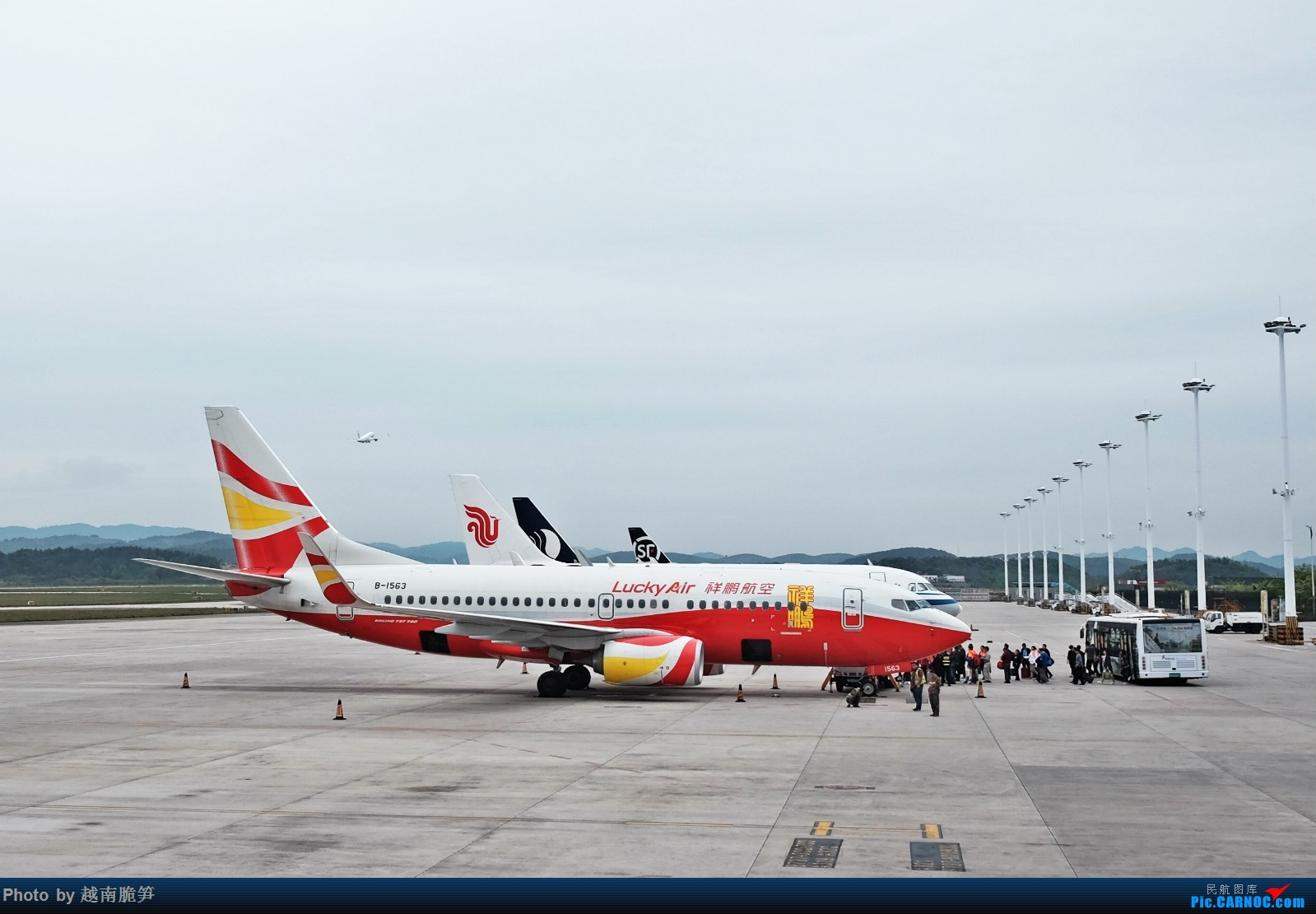Re:[原创]宁波——贵阳往返,南航执飞 BOEING 737-700 B-1563