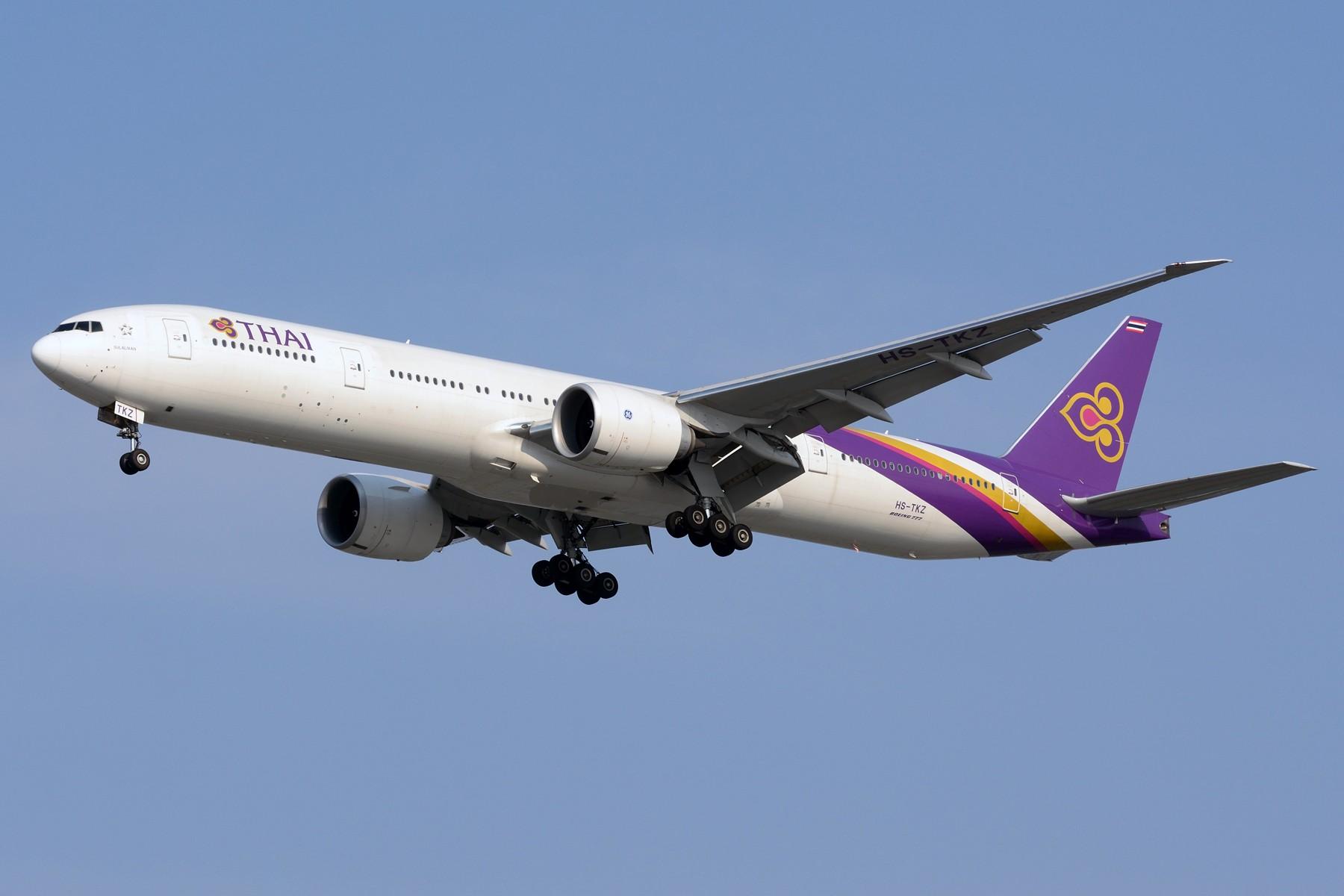 Re:[原创]【PVG】三条七 BOEING 777-300ER HS-TKZ 中国上海浦东国际机场