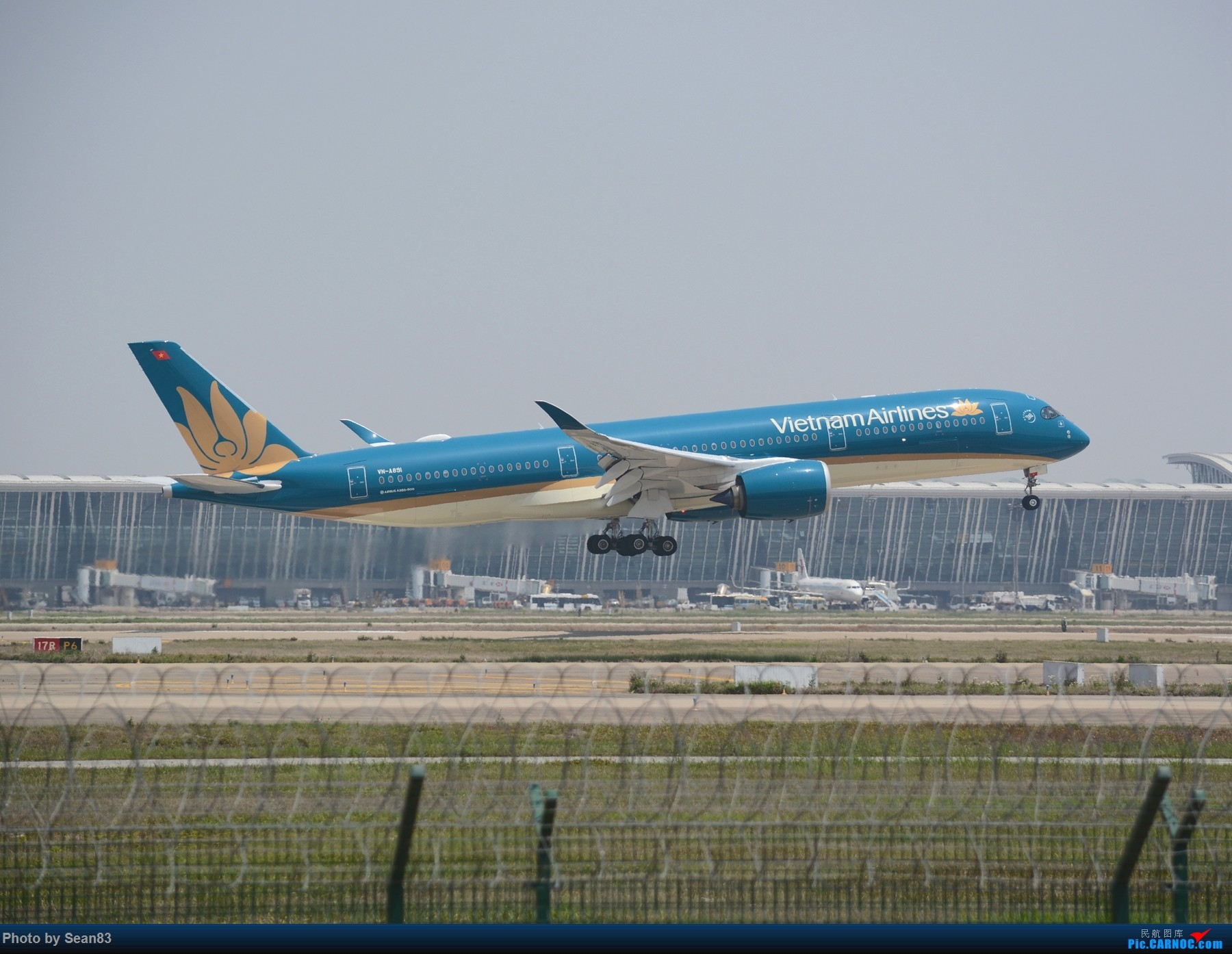 Re:[原创]浦东外国航司系列(首发1800*) AIRBUS A350-900 VN-A891 上海浦东国际机场