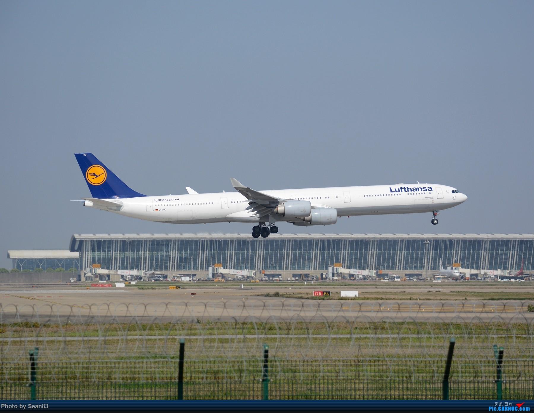 Re:[原创]浦东外国航司系列(首发1800*) AIRBUS A340-600 D-AIHC 上海浦东国际机场