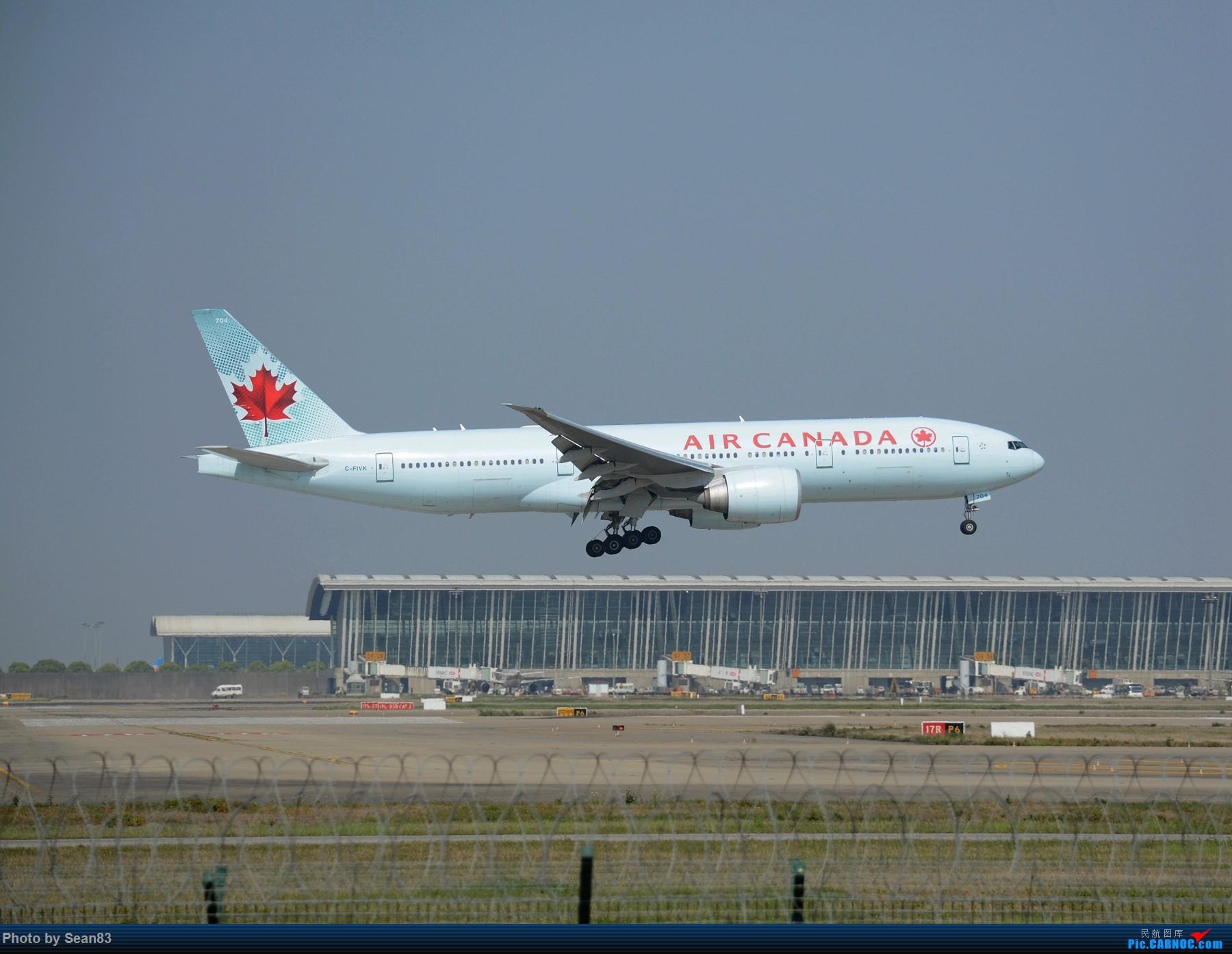Re:[原创]浦东外国航司系列(首发1800*) BOEING 777 C-FIVK 中国上海浦东国际机场
