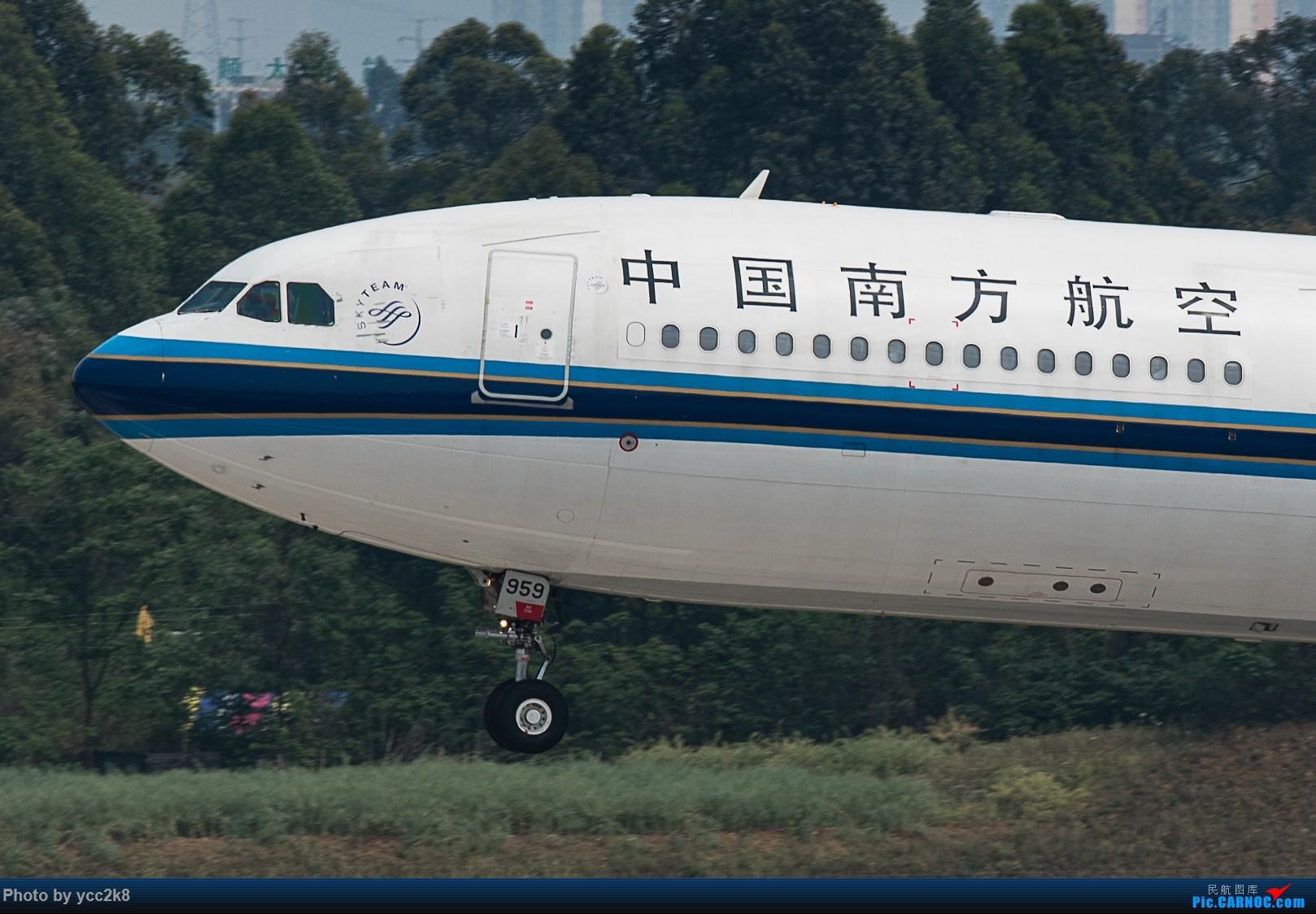 [原创]CTU 下雨天发几张大头 AIRBUS A330-300 B-5959 中国成都双流国际机场