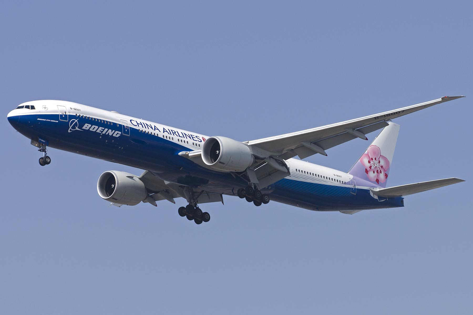 [原创]【PVG】好久没发图了,一堆库存(2)午后 BOEING 777-300ER B-18007 中国上海浦东国际机场
