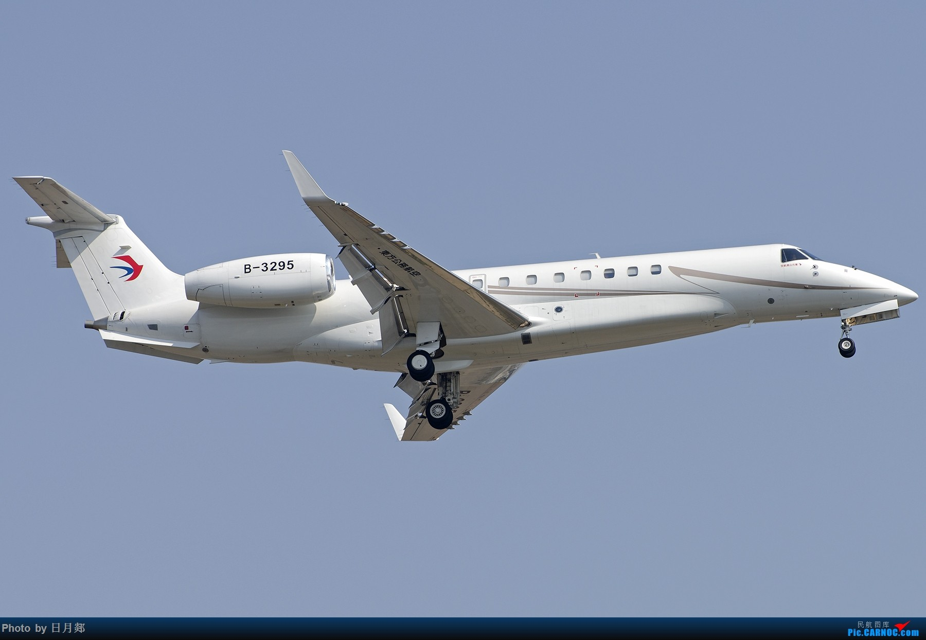 Re:[原创][原创]【PVG】好久没发图了,一堆库存(2)午后 EMBRAER LEGACY 650 B-3295 中国上海浦东国际机场