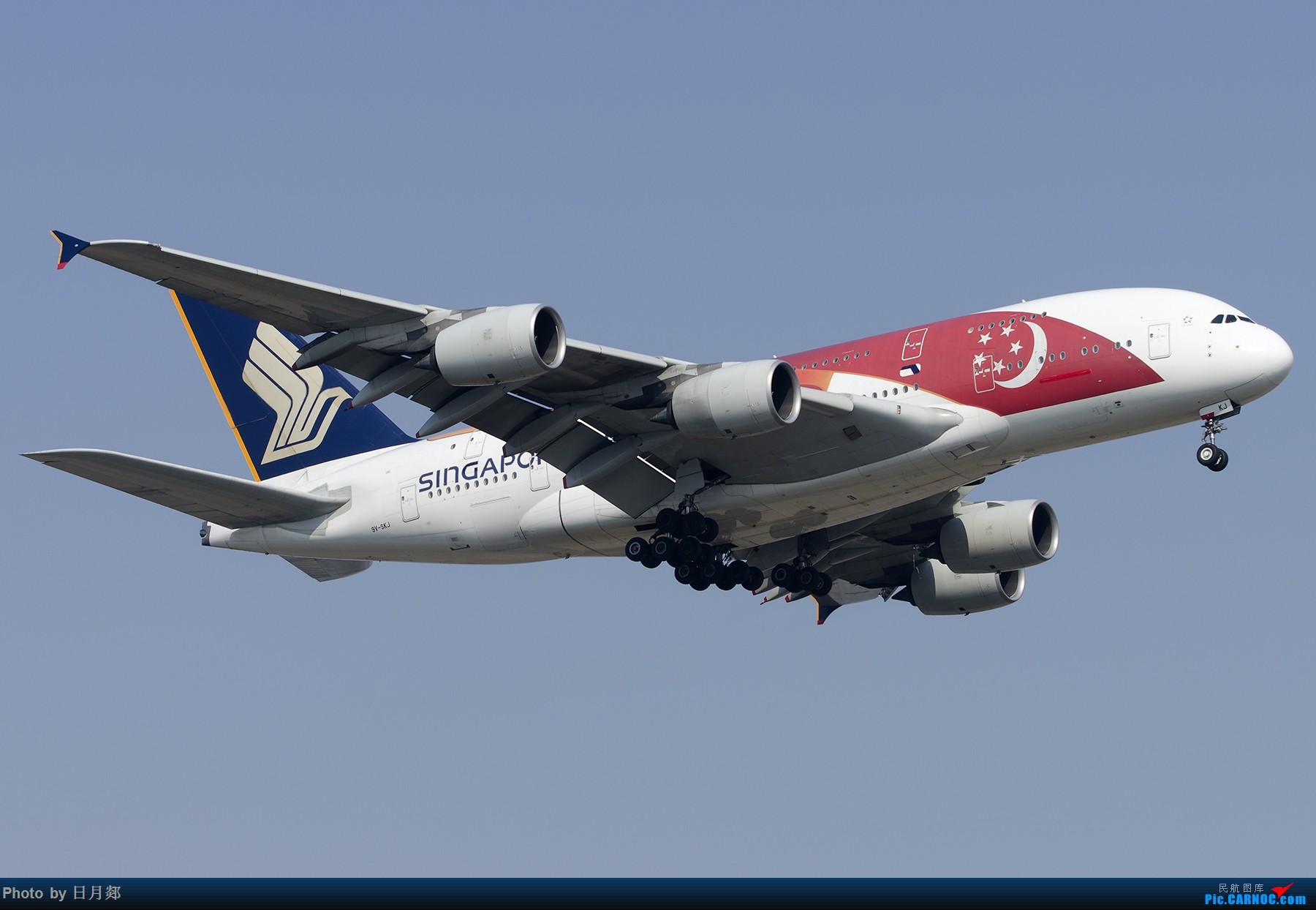 Re:[原创][原创]【PVG】好久没发图了,一堆库存(2)午后 AIRBUS A380 9V-SKJ 中国上海浦东国际机场