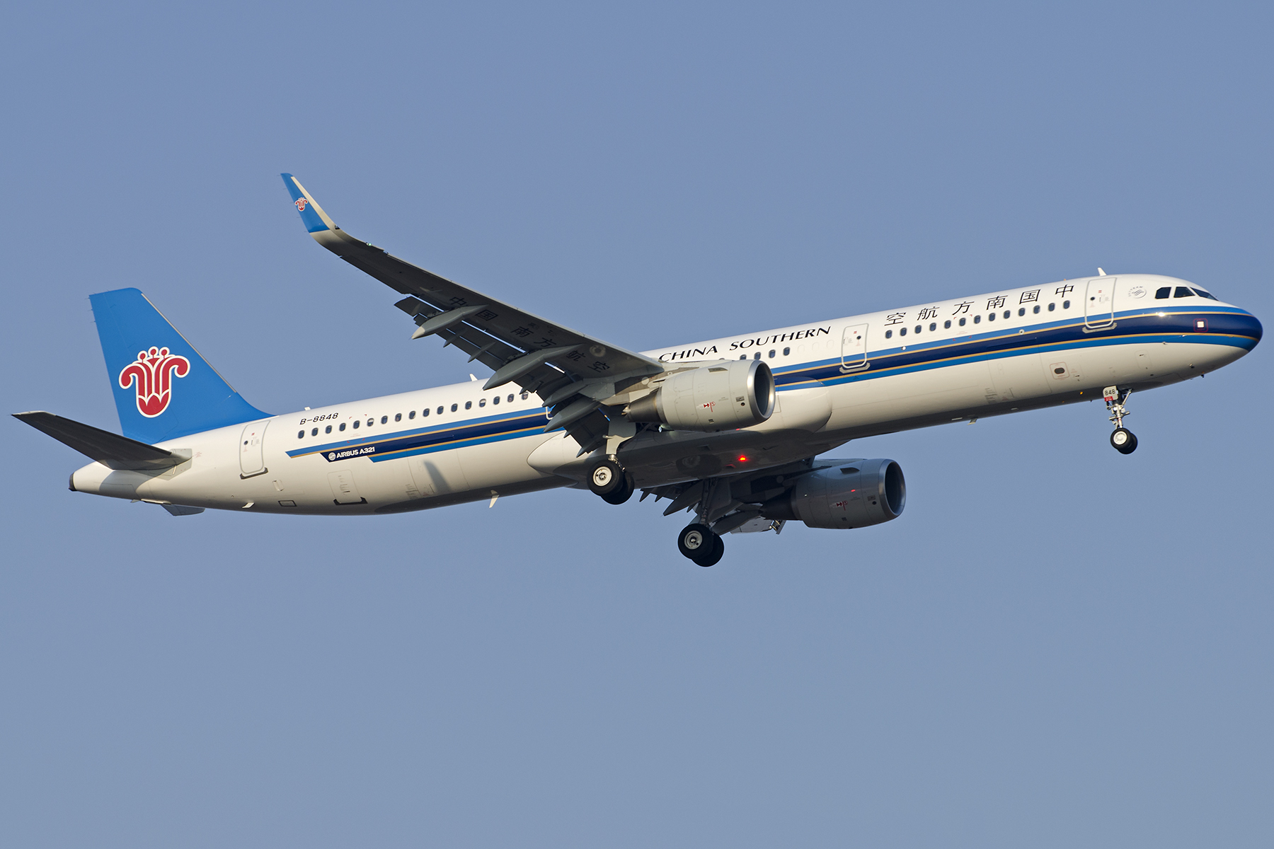Re:[原创][原创]【PVG】好久没发图了,一堆库存(2)午后 AIRBUS A321-200 B-8848 中国上海浦东国际机场