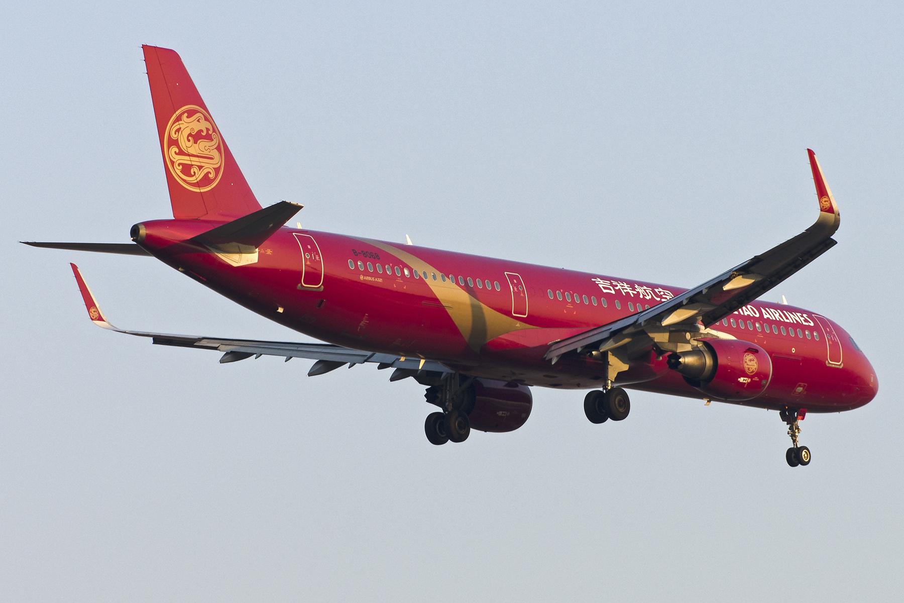 Re:[原创][原创]【PVG】好久没发图了,一堆库存(2)午后 AIRBUS A321-200 B-8068 中国上海浦东国际机场