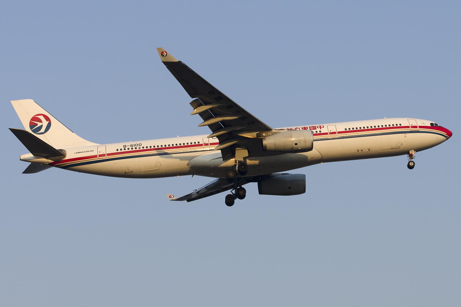 Re:[原创][原创]【PVG】好久没发图了,一堆库存(2)午后 AIRBUS A330-300 B-6100 中国上海浦东国际机场
