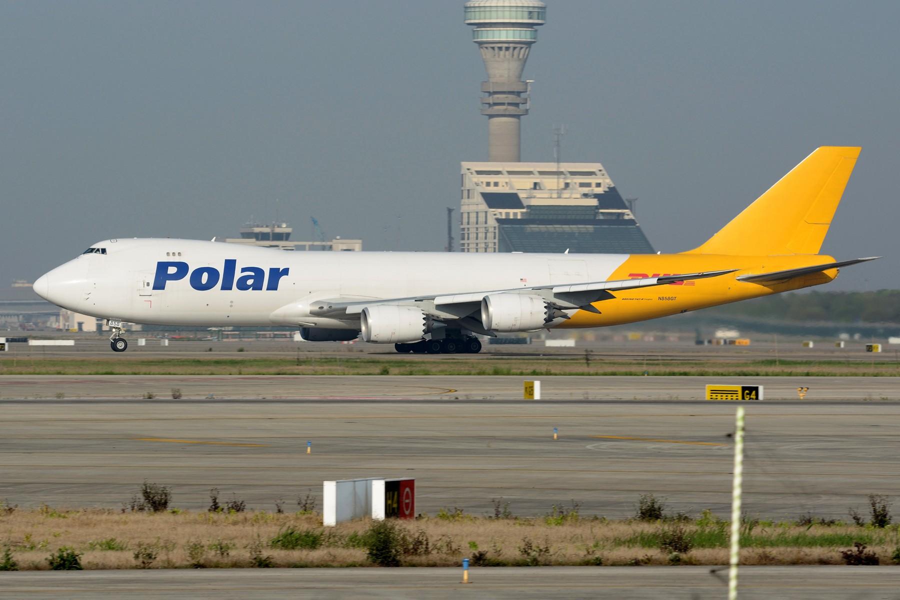 Re:[原创]【PVG】卡狗一组 BOEING 747-8F N858GT 中国上海浦东国际机场