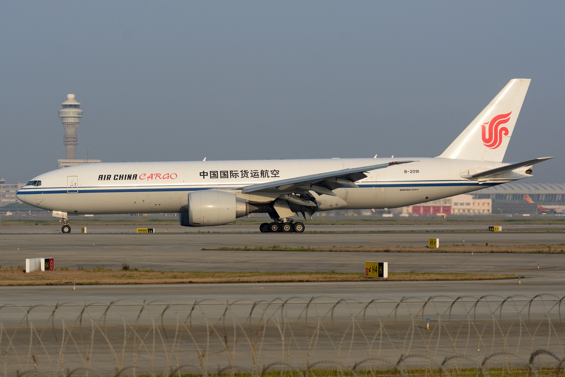 Re:[原创]【PVG】卡狗一组 BOEING 777F B-2091 中国上海浦东国际机场