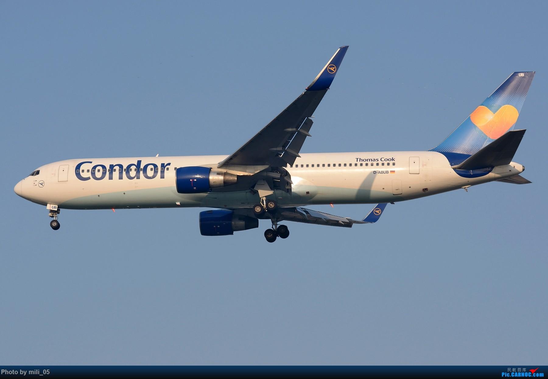 Re:[原创]来自德国的稀客Condor 767 BOEING 767-300ER D-ABUB PVG