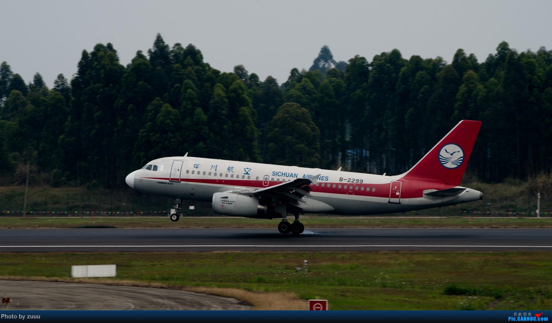 Re:[原创]2017.4.30 CTU 3U合集 AIRBUS A319-100 B-2299 中国成都双流国际机场