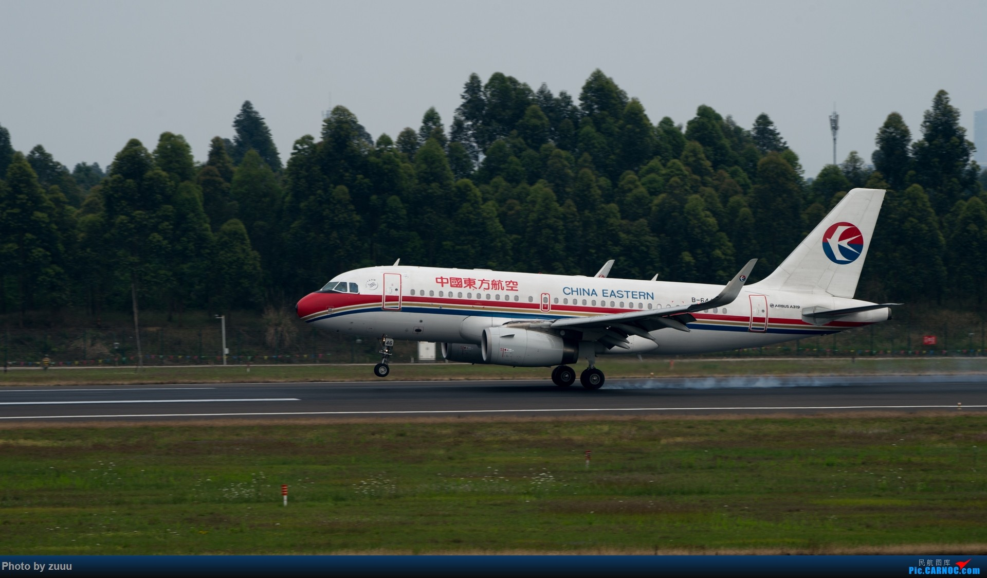 Re:[原创]2017.4.30 CTU 拍飞机 AIRBUS A319-100 B-6446 中国成都双流国际机场