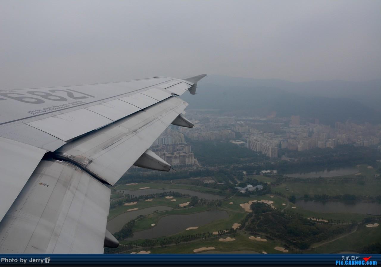 Re:[原创]春秋航空,深圳--石家庄 AIRBUS A320-200 B-6821 深圳宝安国际机场
