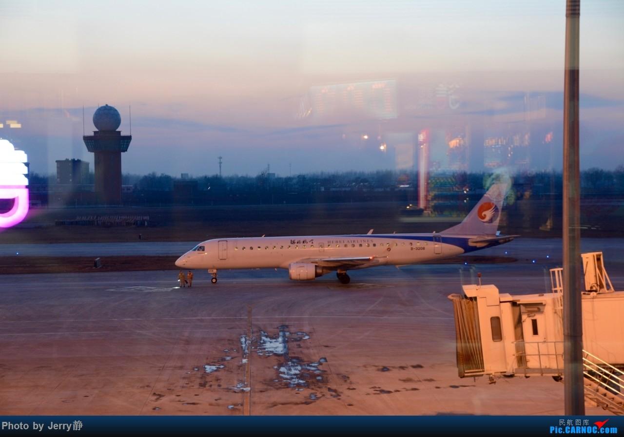 Re:[原创]春秋航空,深圳--石家庄 EMBRAER E-190 B-3208 石家庄正定机场
