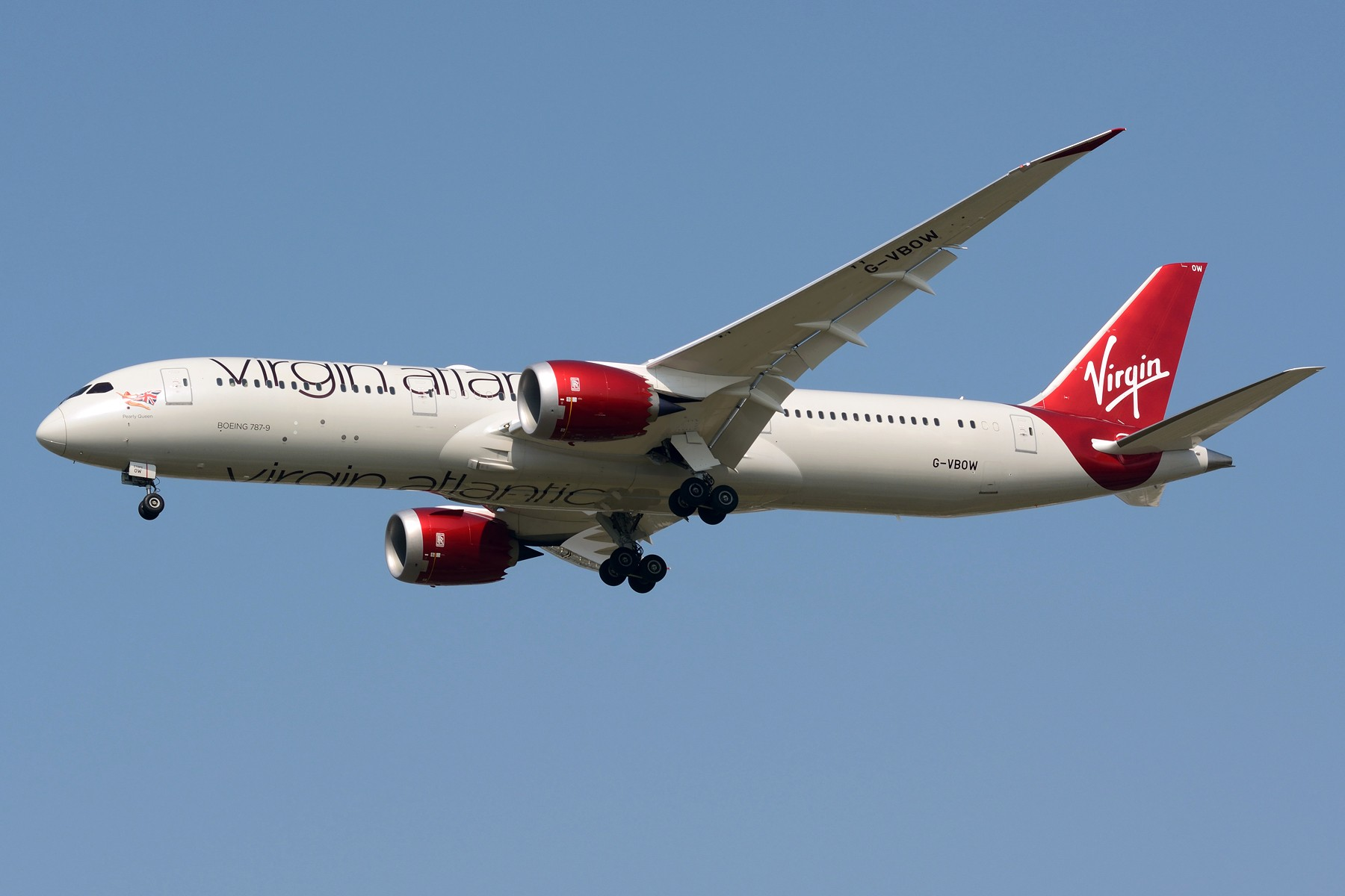 Re:[原创][PVG] 787系列之红白涂装 BOEING 787-9 G-VBOW PVG