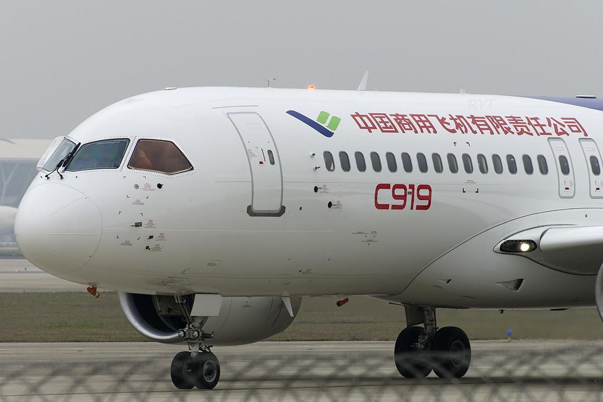 Re:[原创]【PVG】见证C919首飞 COMAC C919 B-001A 中国上海浦东国际机场