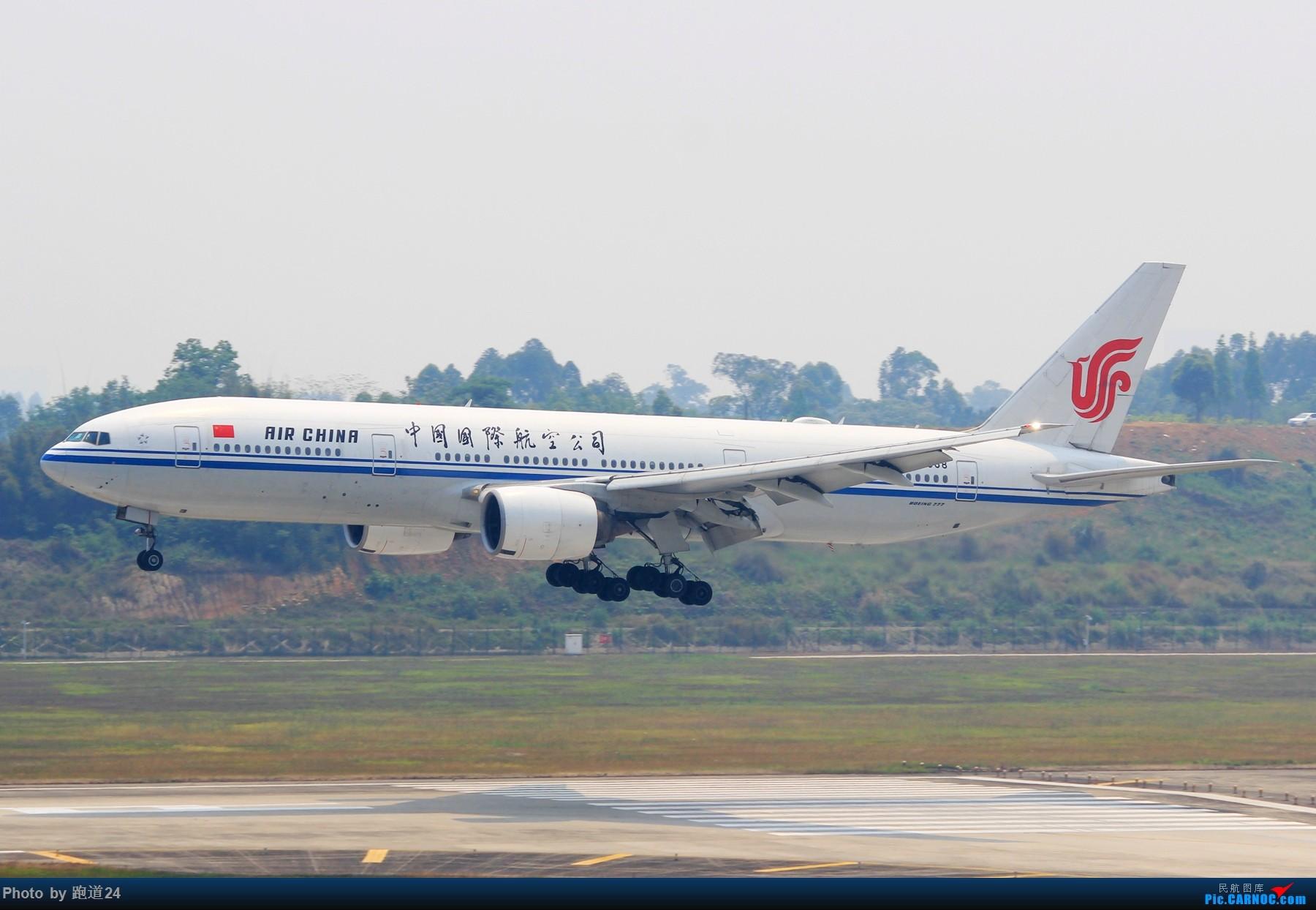 Re:[原创]【多图党】AIR CHINA B777-2J6 B-2068 1800*1200 BOEING 777-200 B-2068 中国成都双流国际机场