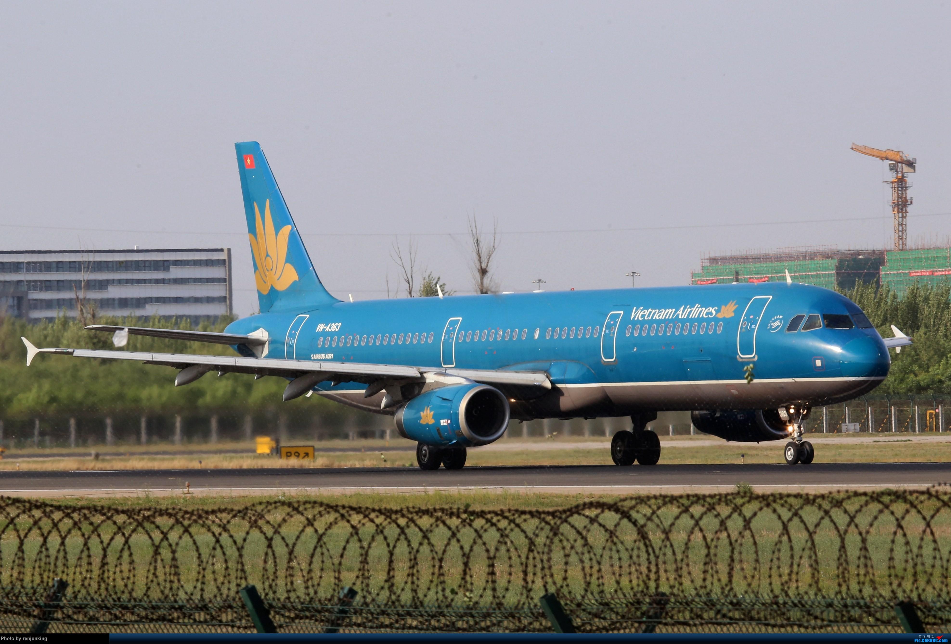 [原创]越南航空 airbus a321 vn-a363 中国北京首都国际机场
