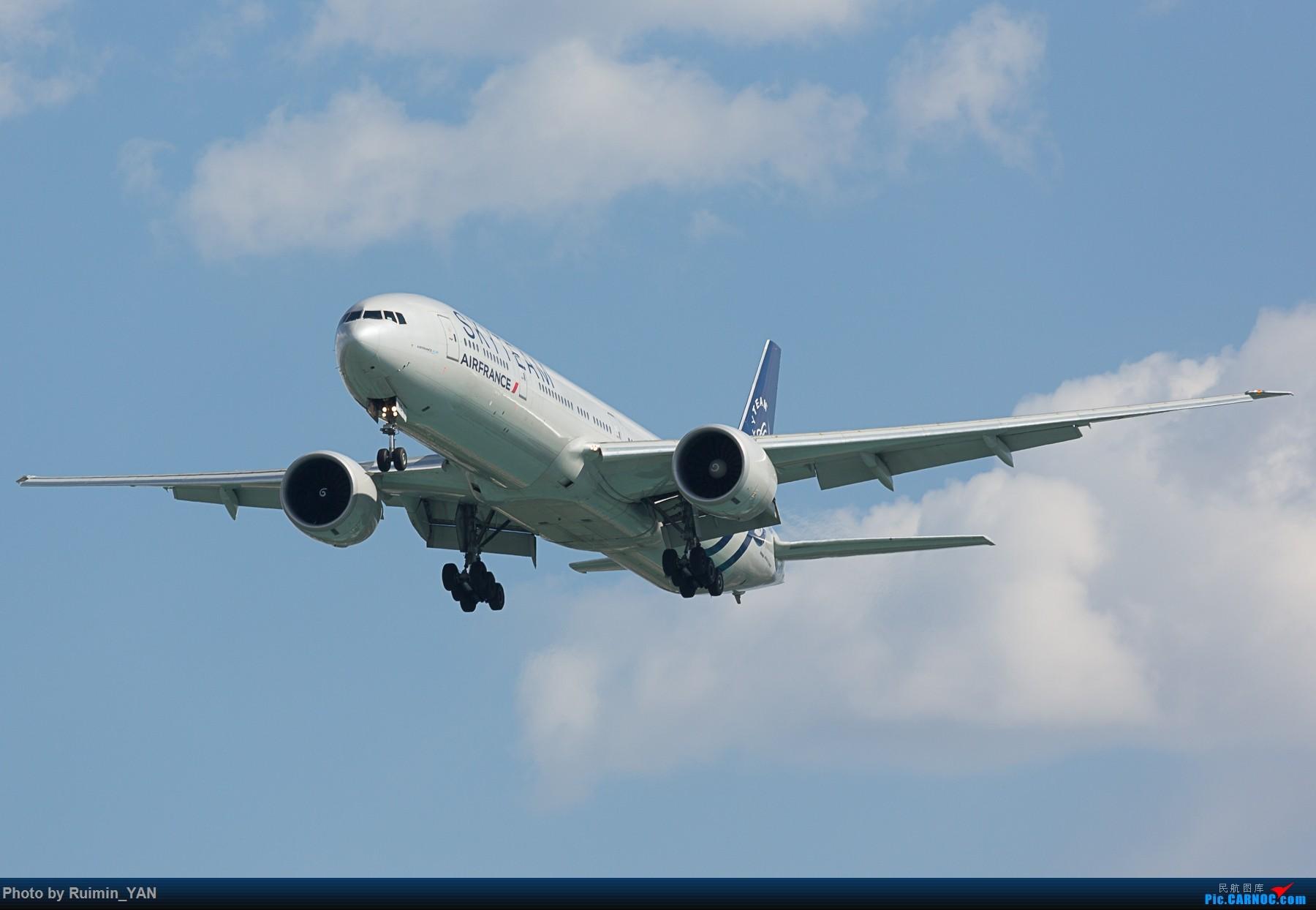 [原创]【PEK】【天合联盟】【祥云】法航(AF, Air France) F-GZNE B77W BOEING 777-300ER F-GZNE 中国北京首都国际机场