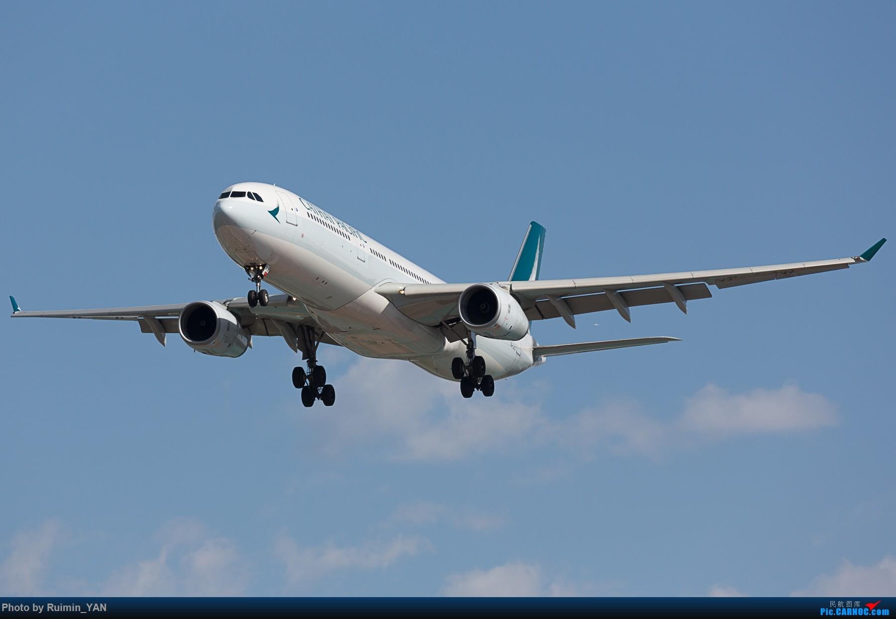 【PEK】【新装】国泰航空(CX, Cathay Pacific) B-LAJ A333 AIRBUS A330-300 B-LAJ 中国北京首都国际机场