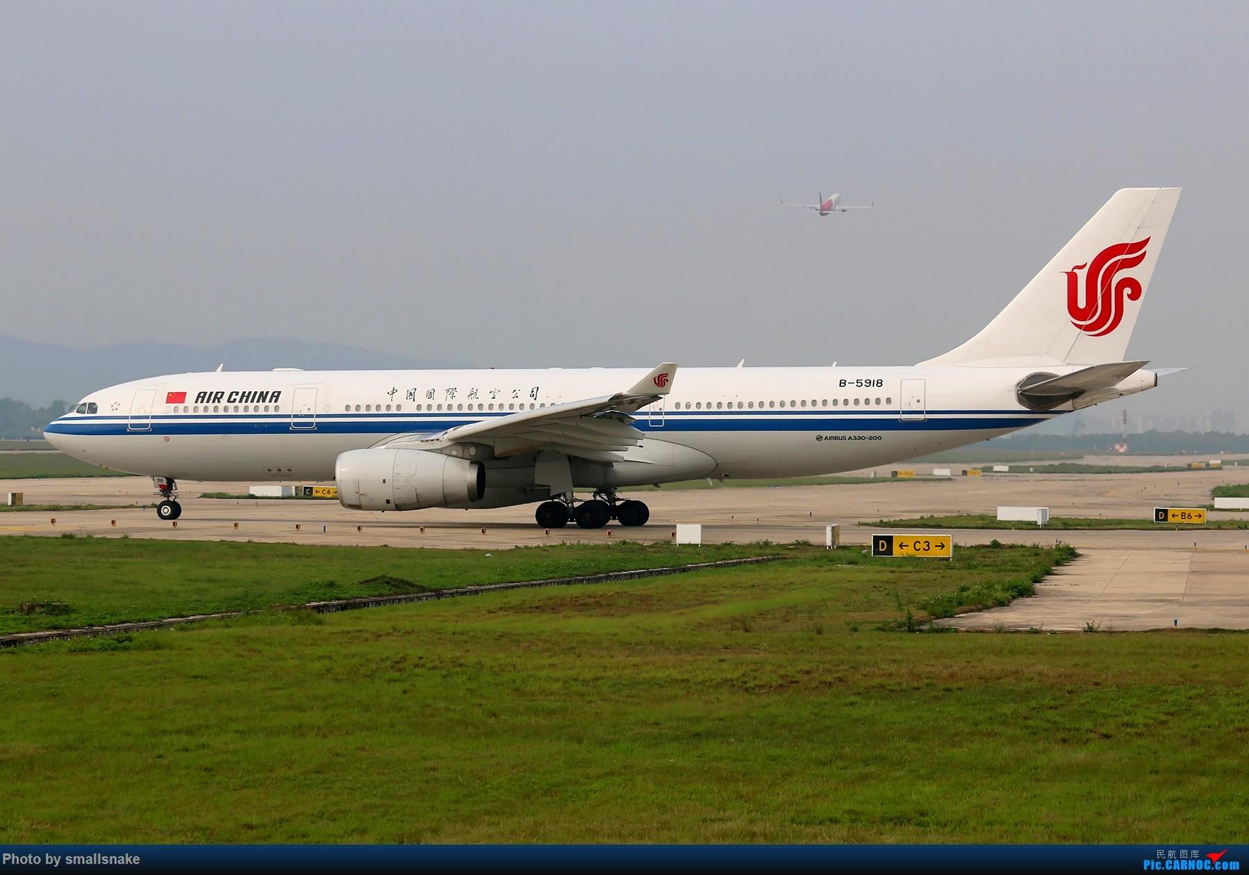 Re:[原创]B-5918,国航空客A330... AIRBUS A330-200 B-5918 中国南宁吴圩国际机场