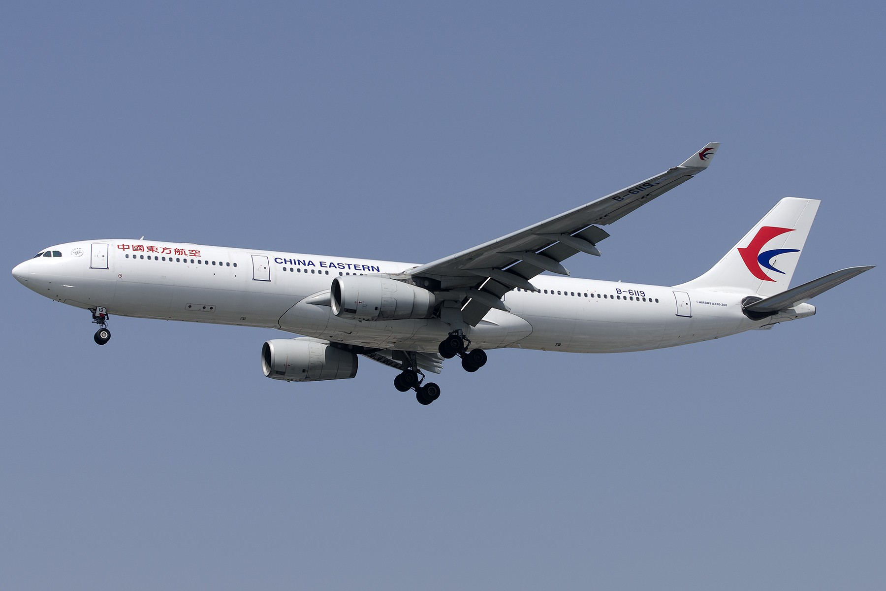 Re:[原创][原创]【SHA拍机*1800大图】4月拍的了,记得那天好货还挺多 AIRBUS A330-300 B-6119 中国上海虹桥国际机场