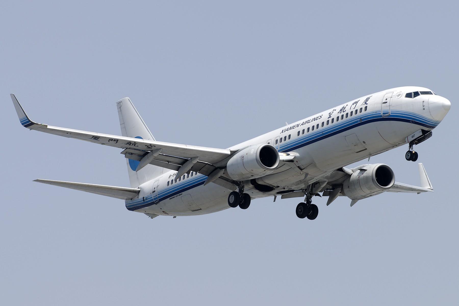 Re:[原创][原创]【SHA拍机*1800大图】4月拍的了,记得那天好货还挺多 BOEING 737-800 B-5487 中国上海虹桥国际机场