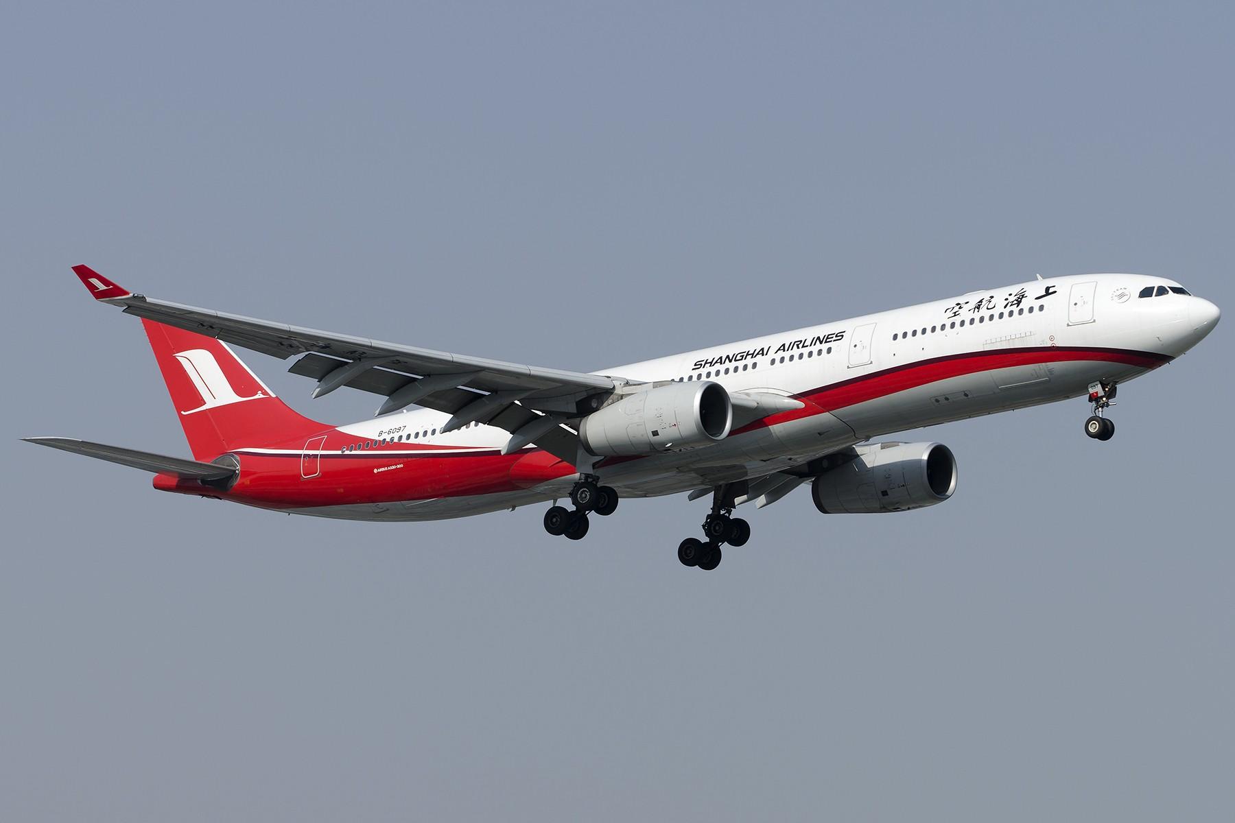 Re:[原创][原创]【SHA拍机*1800大图】4月拍的了,记得那天好货还挺多 AIRBUS A330-300 B-6097 中国上海虹桥国际机场