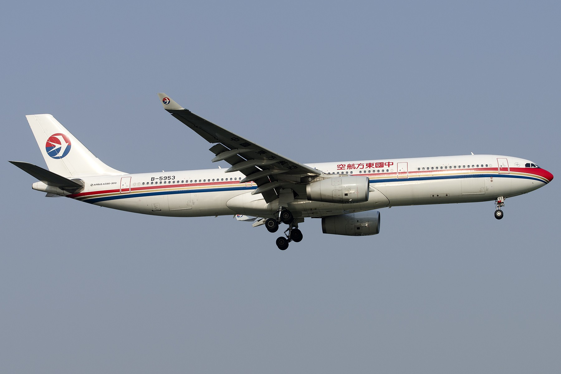 Re:[原创][原创]【SHA拍机*1800大图】4月拍的了,记得那天好货还挺多 AIRBUS A330-300 B-5953 中国上海虹桥国际机场